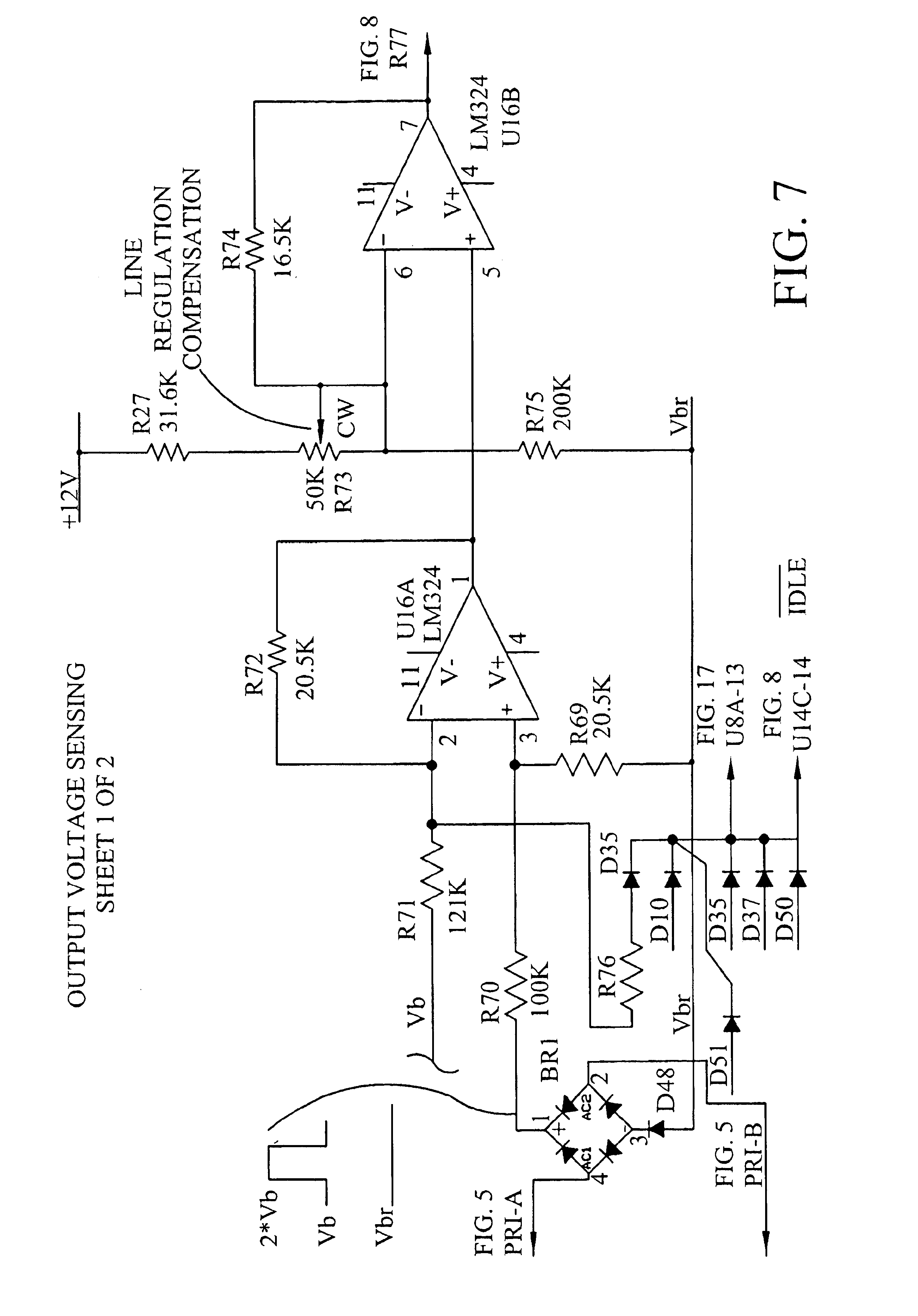 Patent Us6958922 High Output Power Quasi Square Wave Inverter Modifying Inverters To Sine Equivalents Drawing