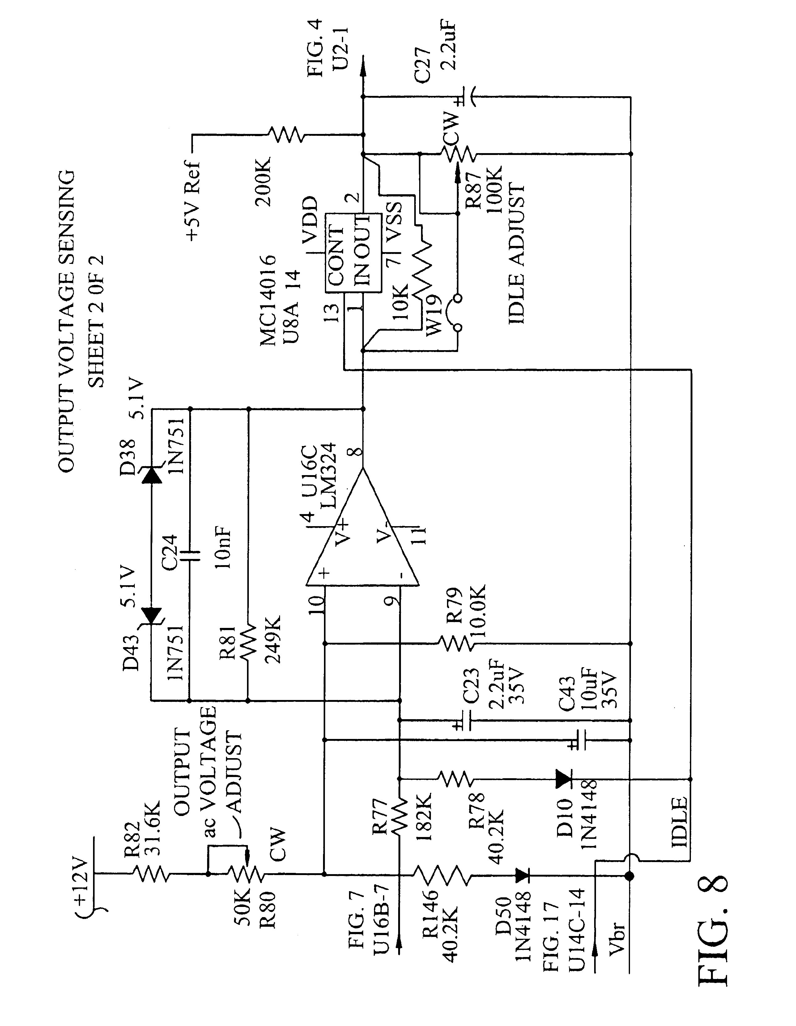 Patente Us6958922 High Output Power Quasi Square Wave Inverter Modifying Inverters To Sine Equivalents Patent Drawing