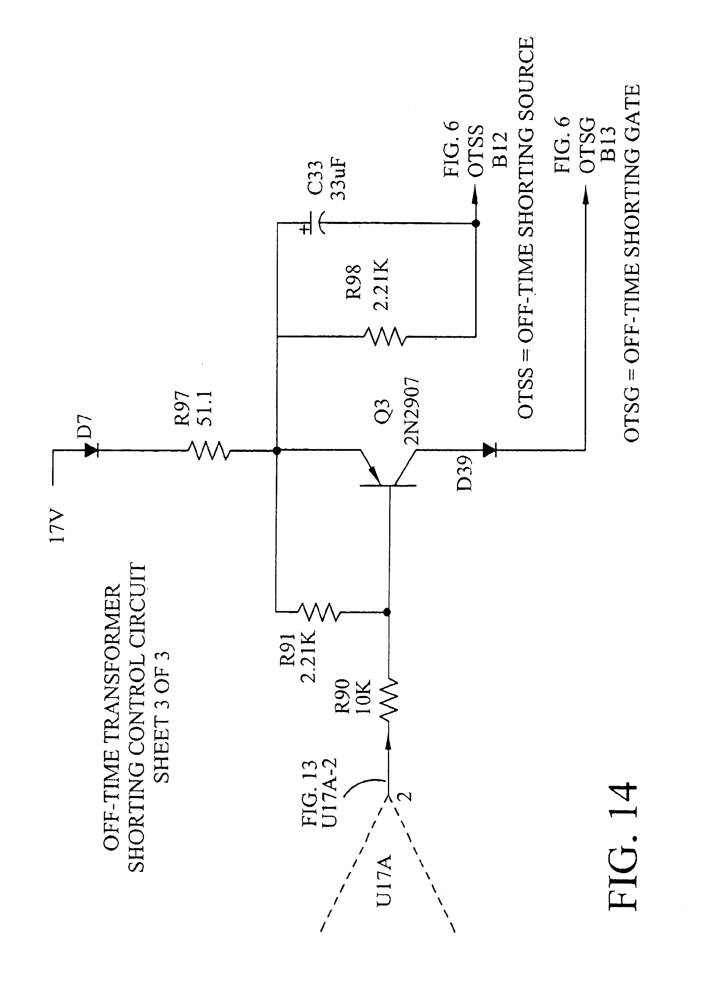 patent us6958922 - high output power quasi-square wave inverter circuit