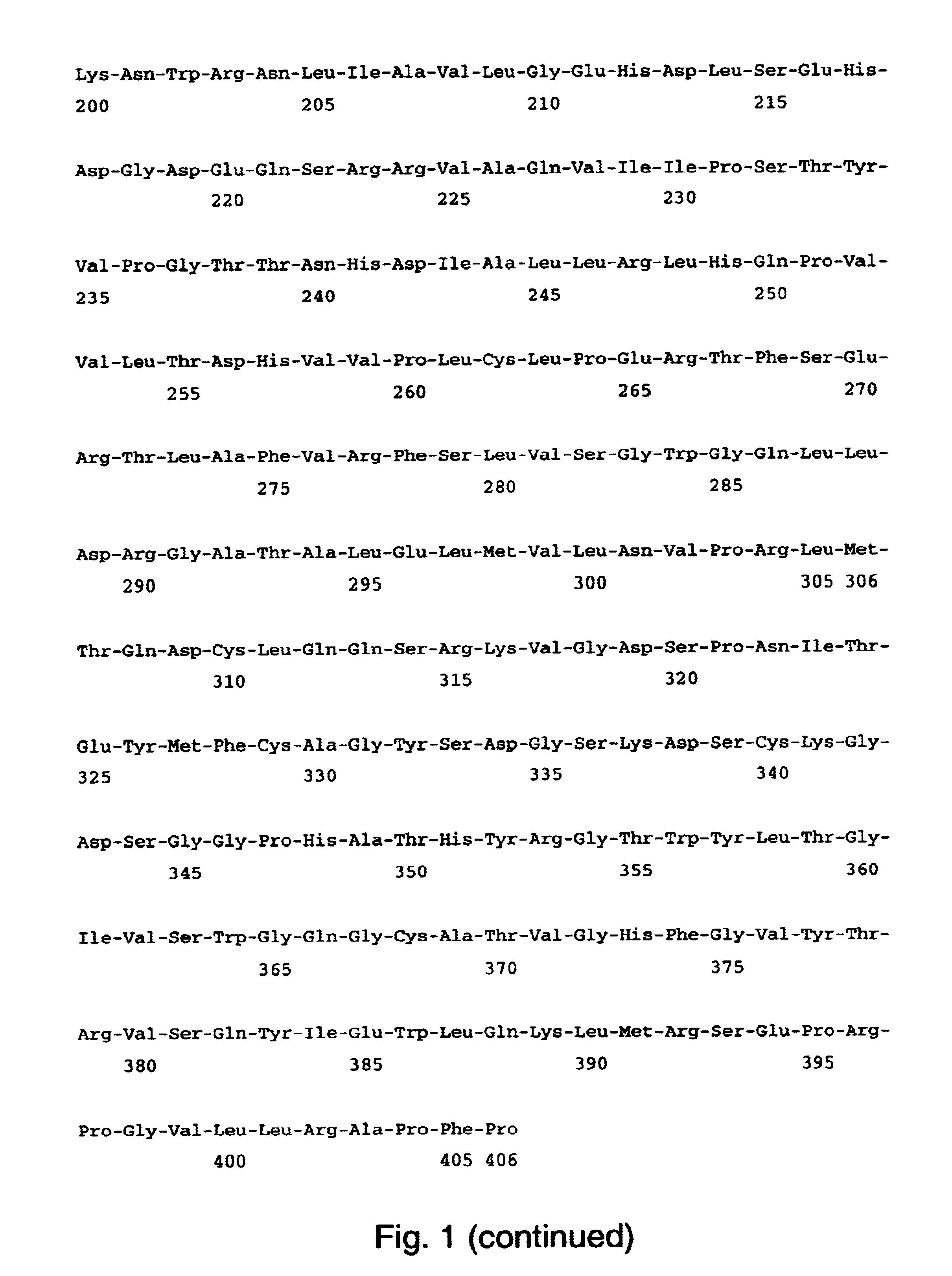 Patent Us6960657 Human Coagulation Factor Vii Polypeptides