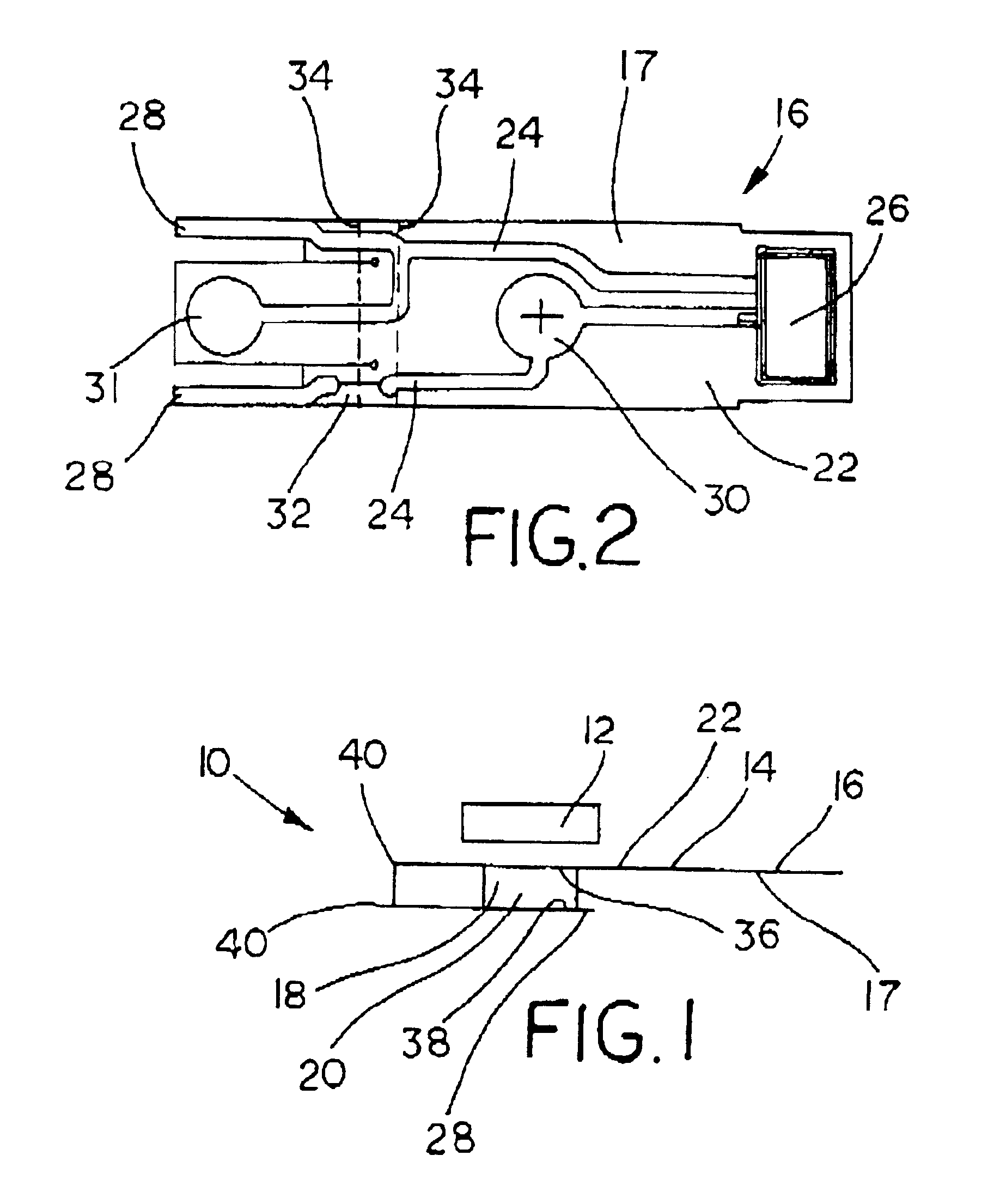 patent us6961515 - ptc heater with flexible printed circuit board