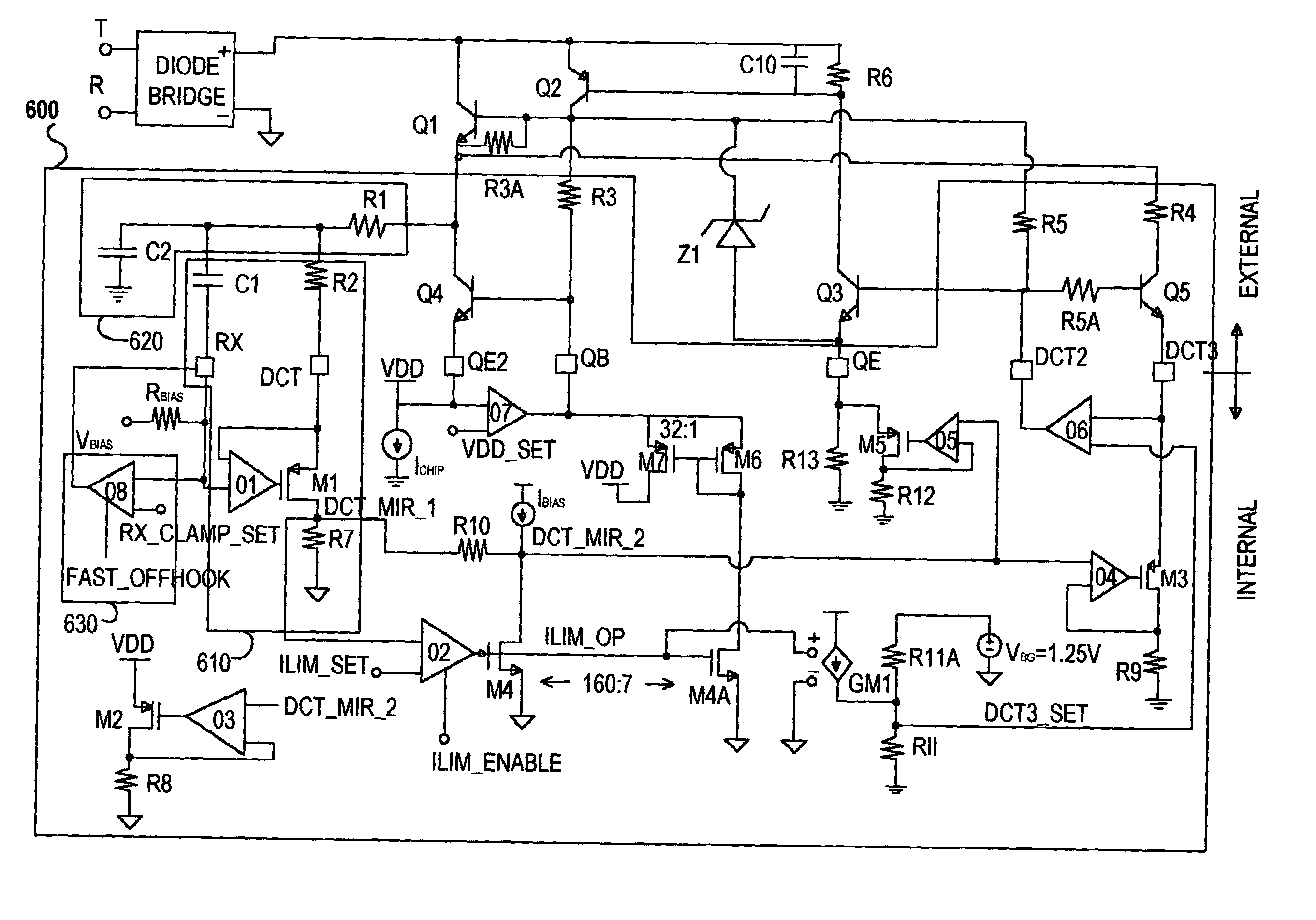 Patent Us6968055 Dc Holding Circuit Google Patentsuche Voltage Wiring In Series Furthermore Solid State Relay Drawing