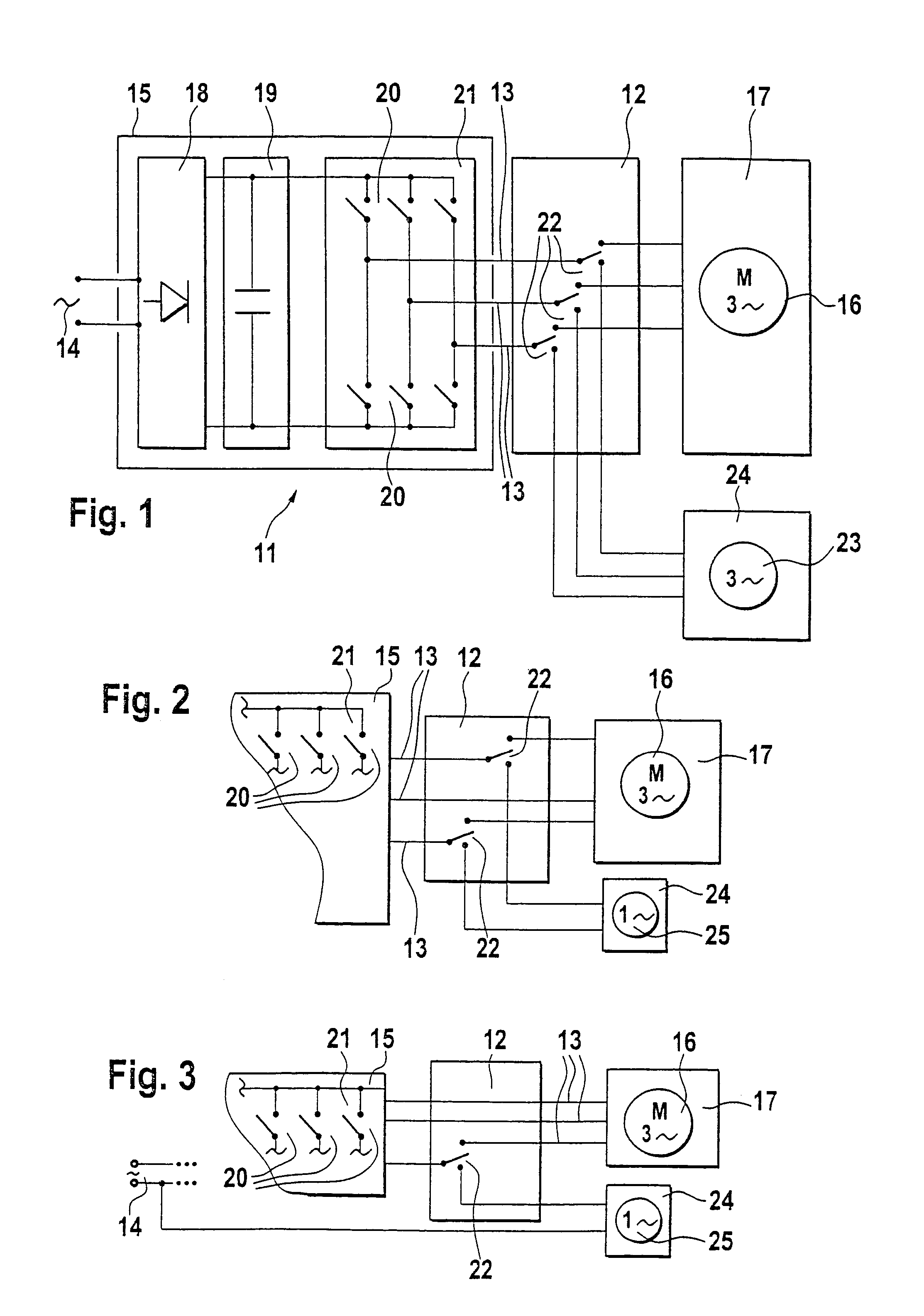 Patent US6969969 Circuit arrangement for the actuation of an – Diehl Electric Motors Wiring Diagram
