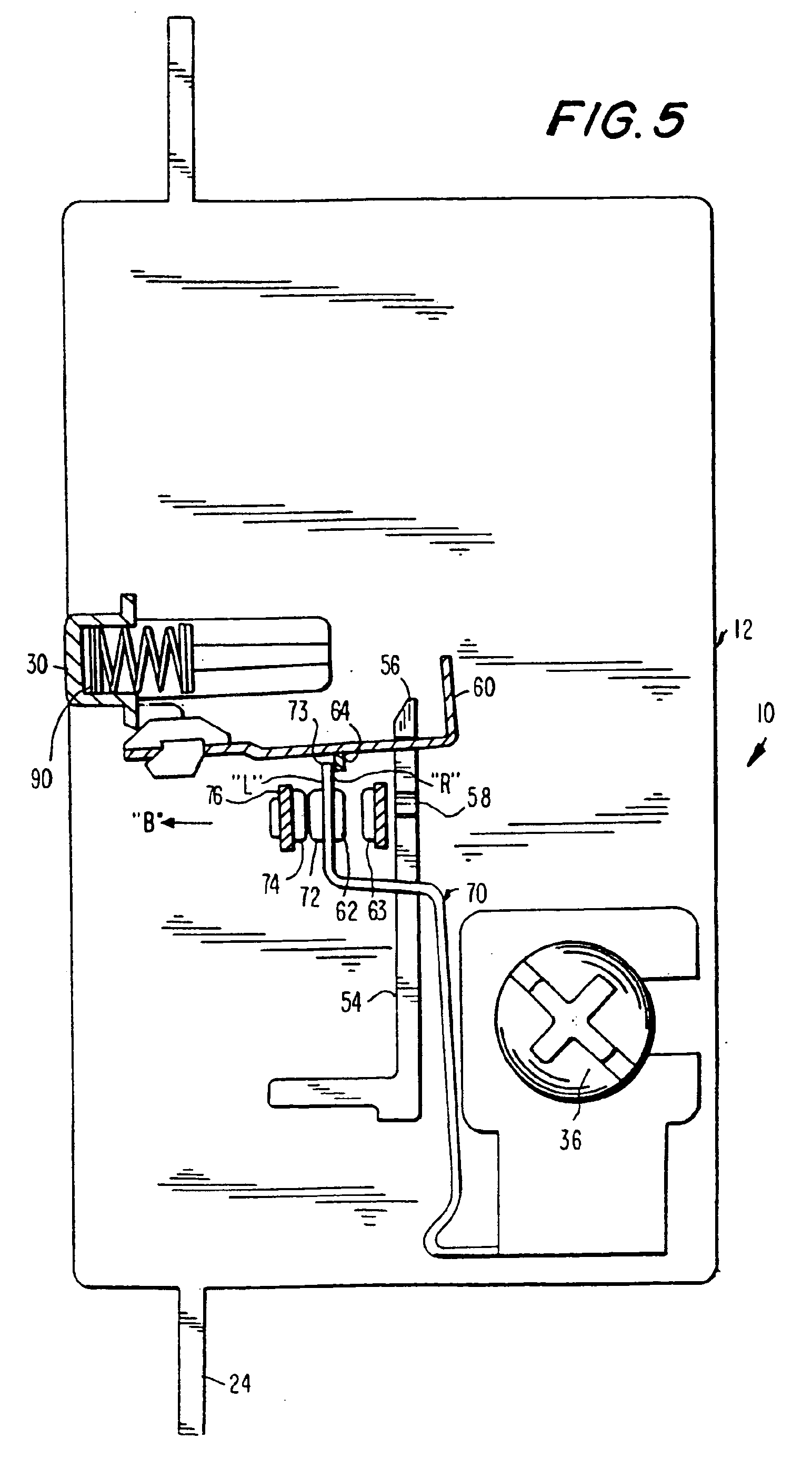 Patent Us6975492 Reset Lockout For Circuit Interrupting Device Pass Seymour Arcfault Interrupter Afci Drawing