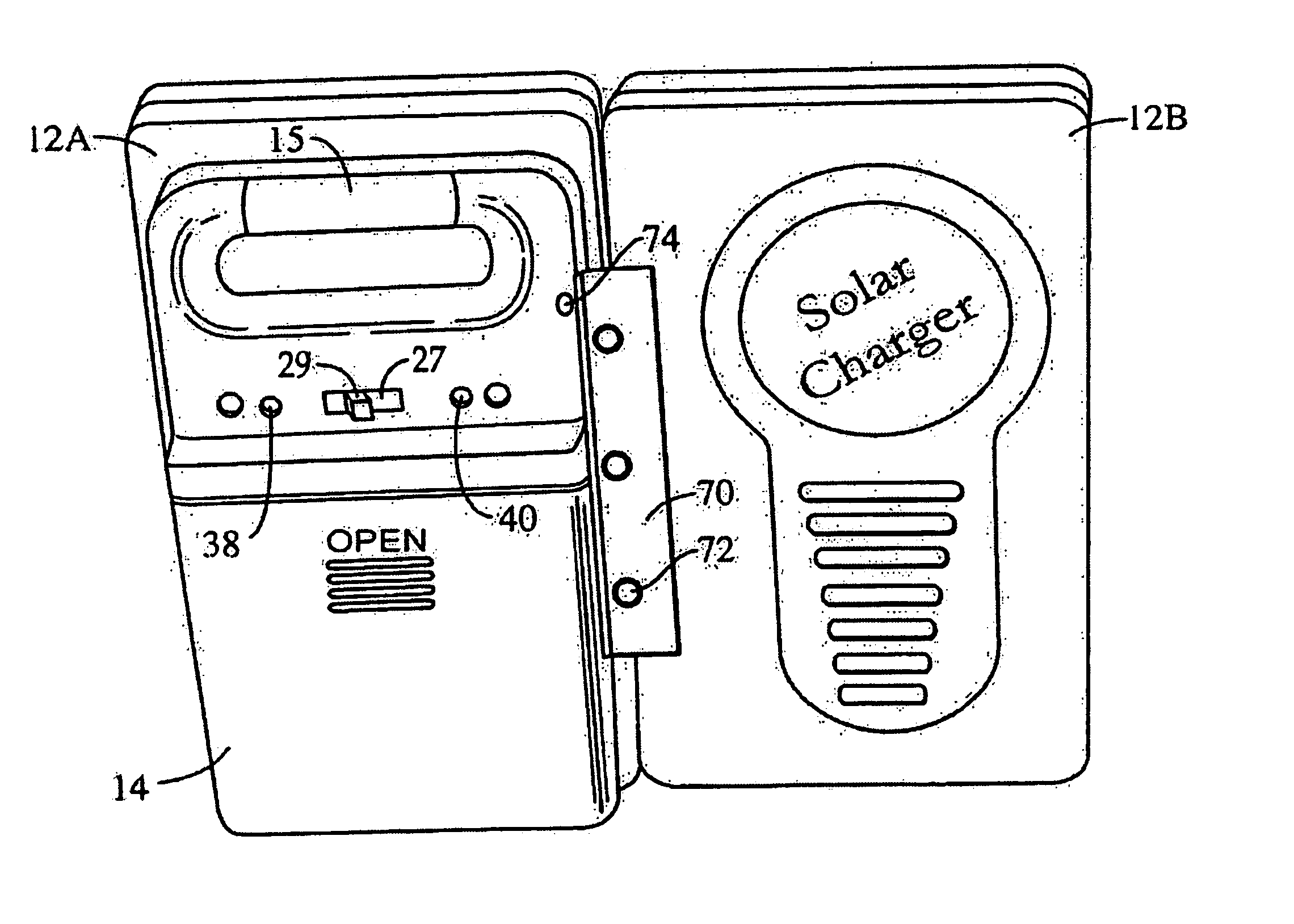 Patent Us6977479 Portable Cell Phone Battery Charger