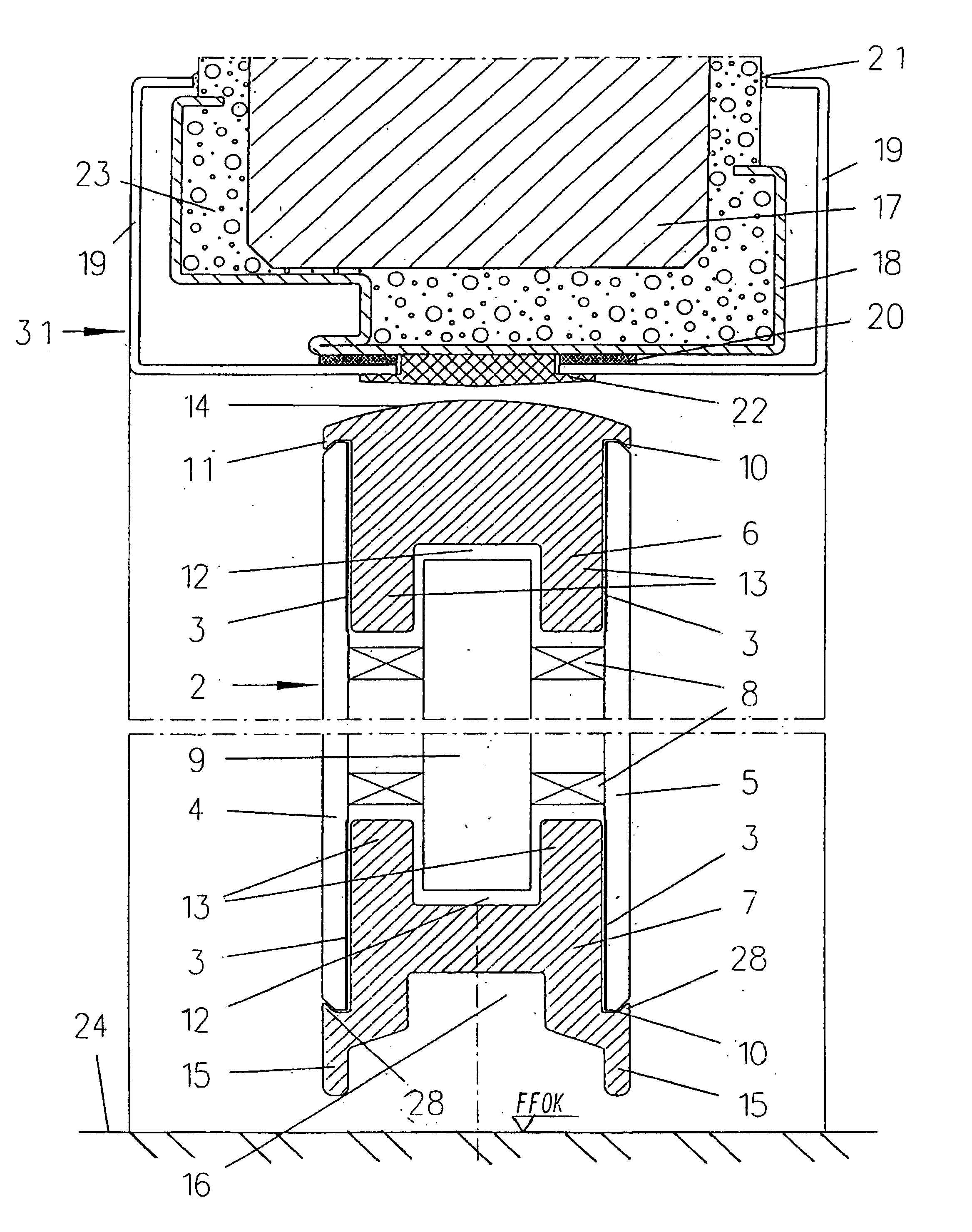 Patent us6981351 fire rated door with a surrounding door for Door jamb detail