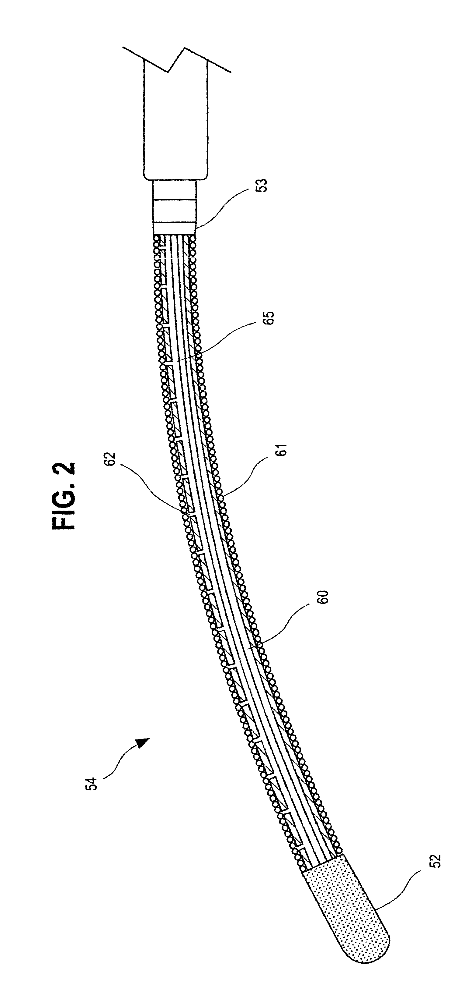 Patent US6986769 - Ablation catheter with cooled linear ...