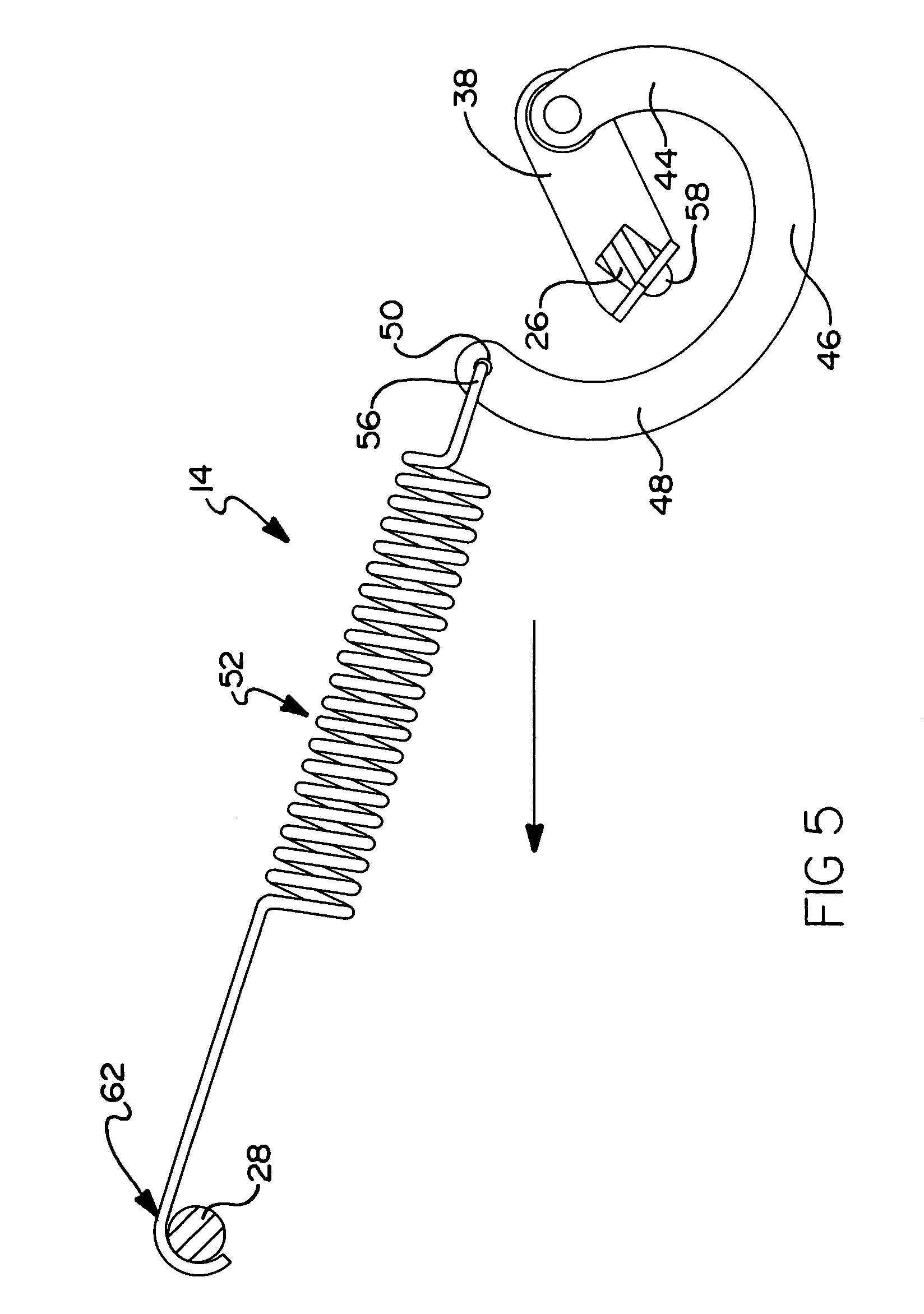 Patent Us6988769 Spring Toggle Furniture Mechanism