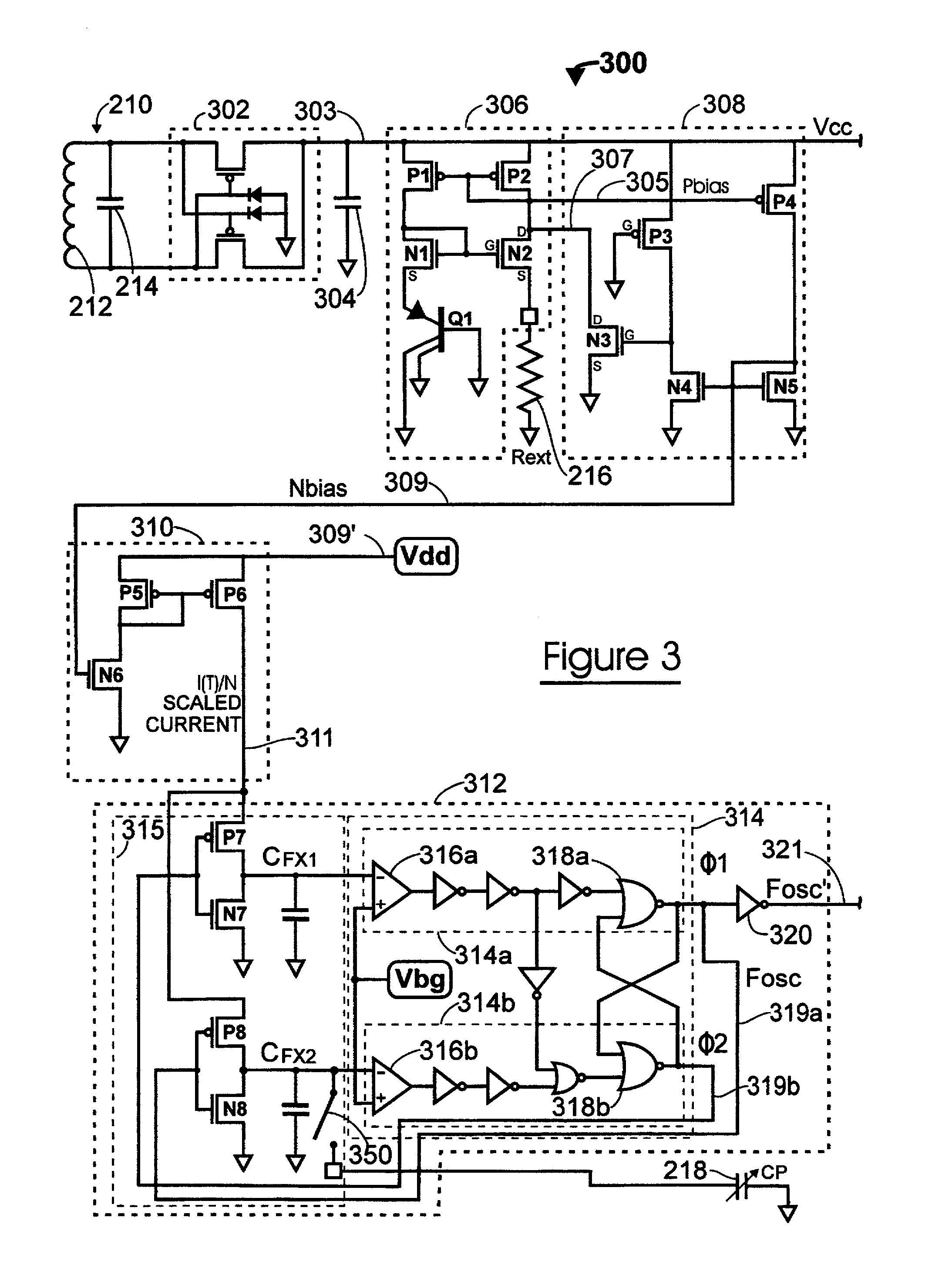 Patent Us6995672 Relaxation Oscillator For Transponder Google Astable Flipflop Multivibrator Circuit Oscillatorcircuit Signal Drawing