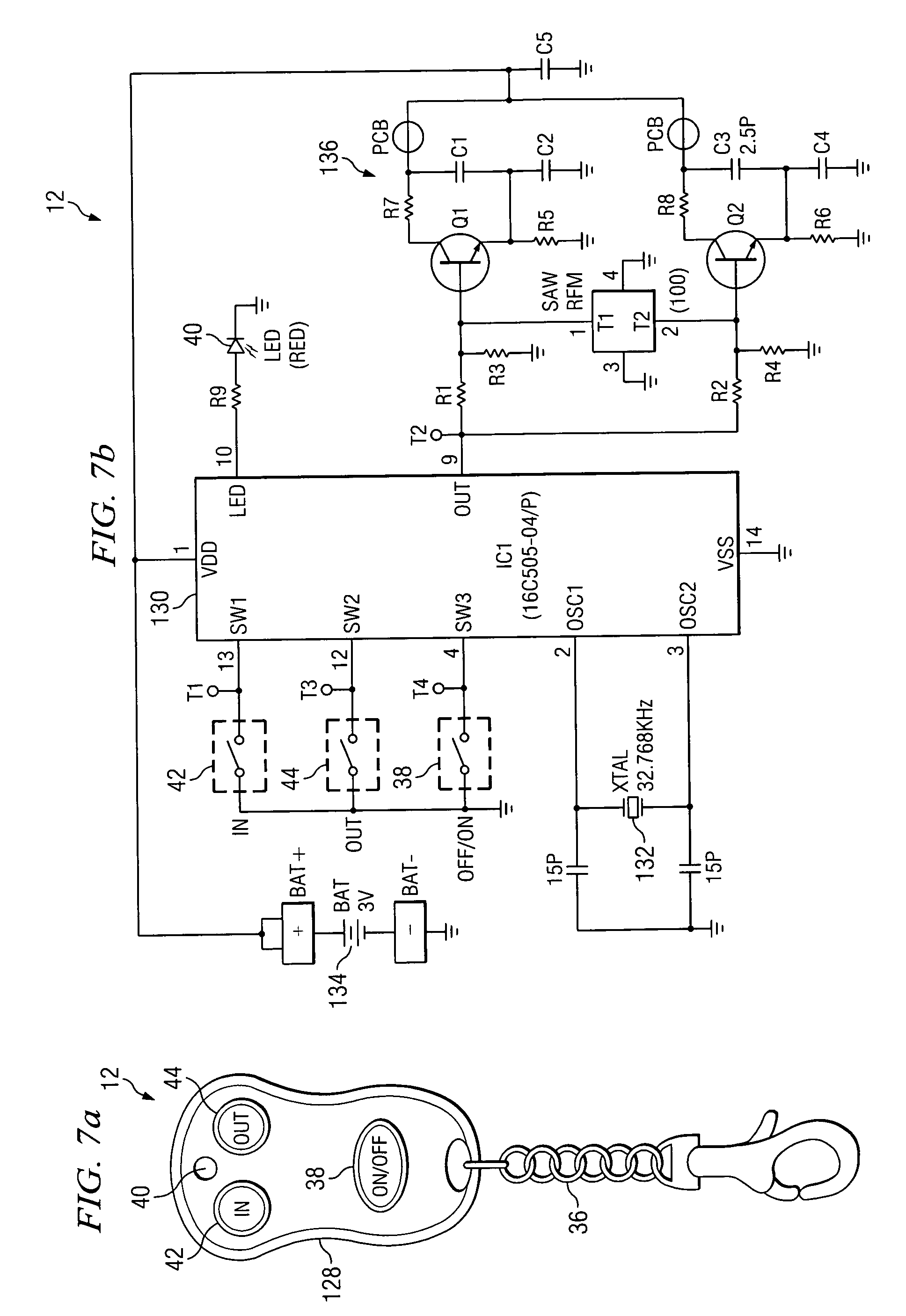 Patent Us6995682 Wireless Remote Control For A Winch