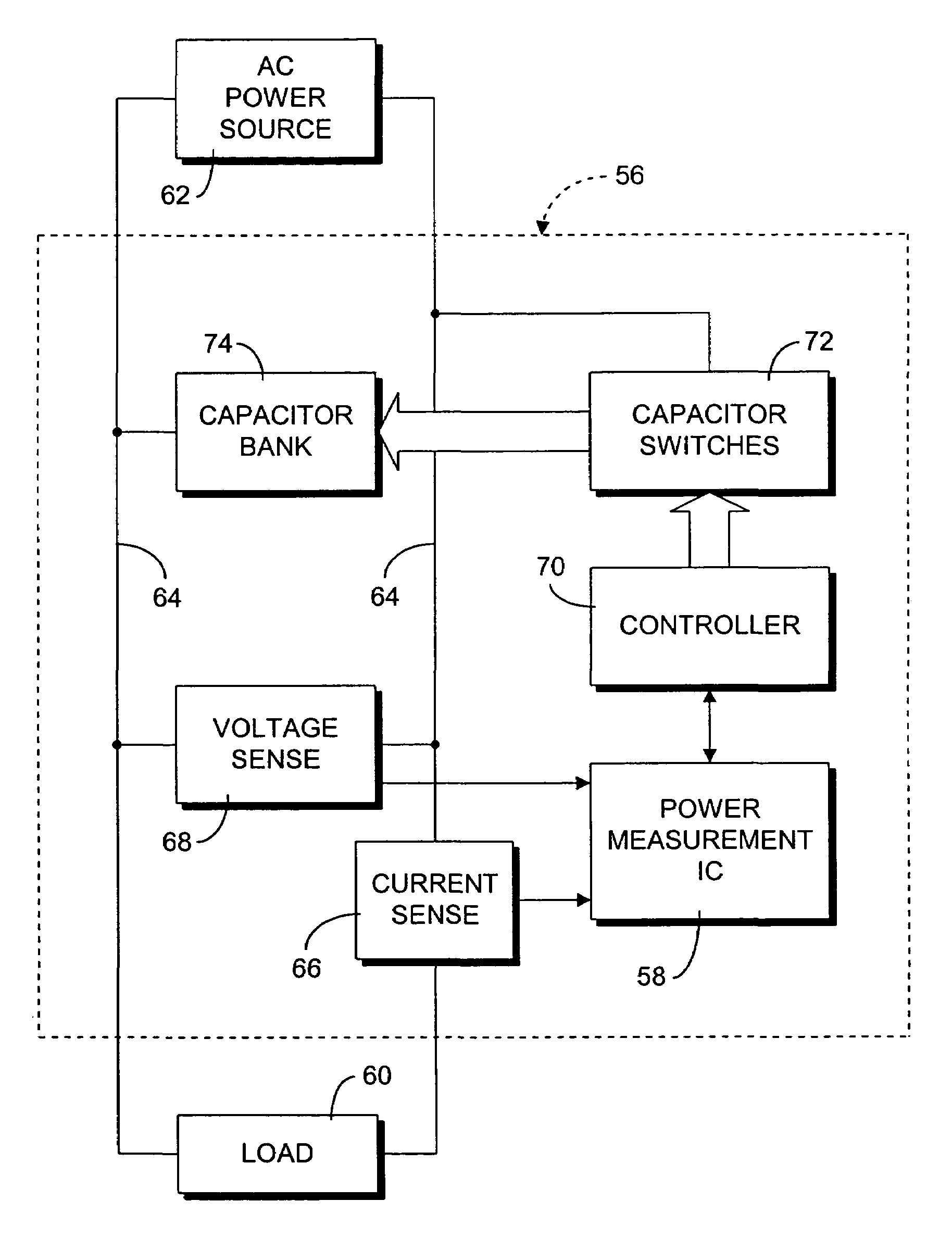 Power Factor Capacitor Bank Wiring Diagram Virtual Circuit And Schematics