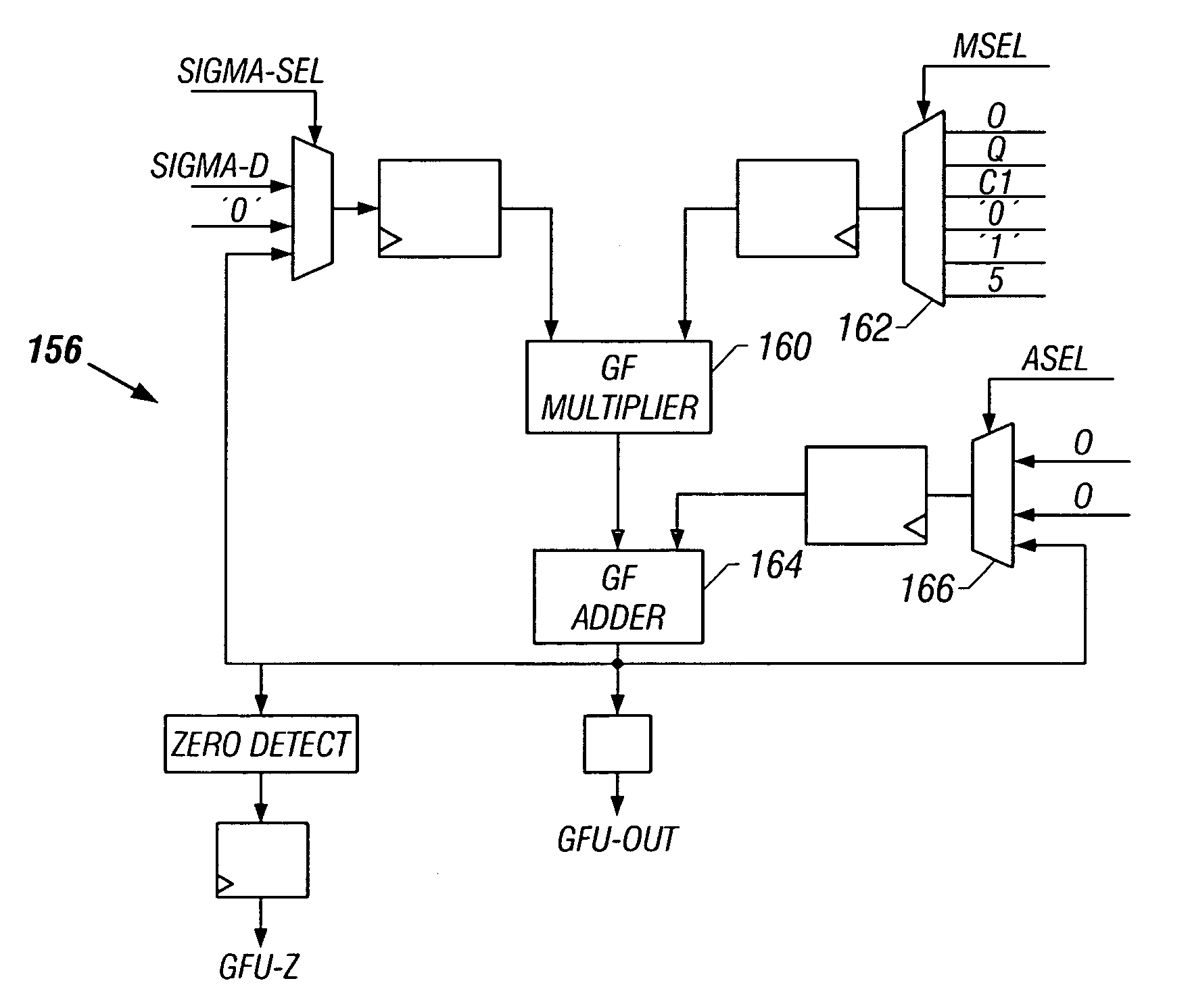 Patent Us7003715 Galois Field Multiply Accumulator Google Patents