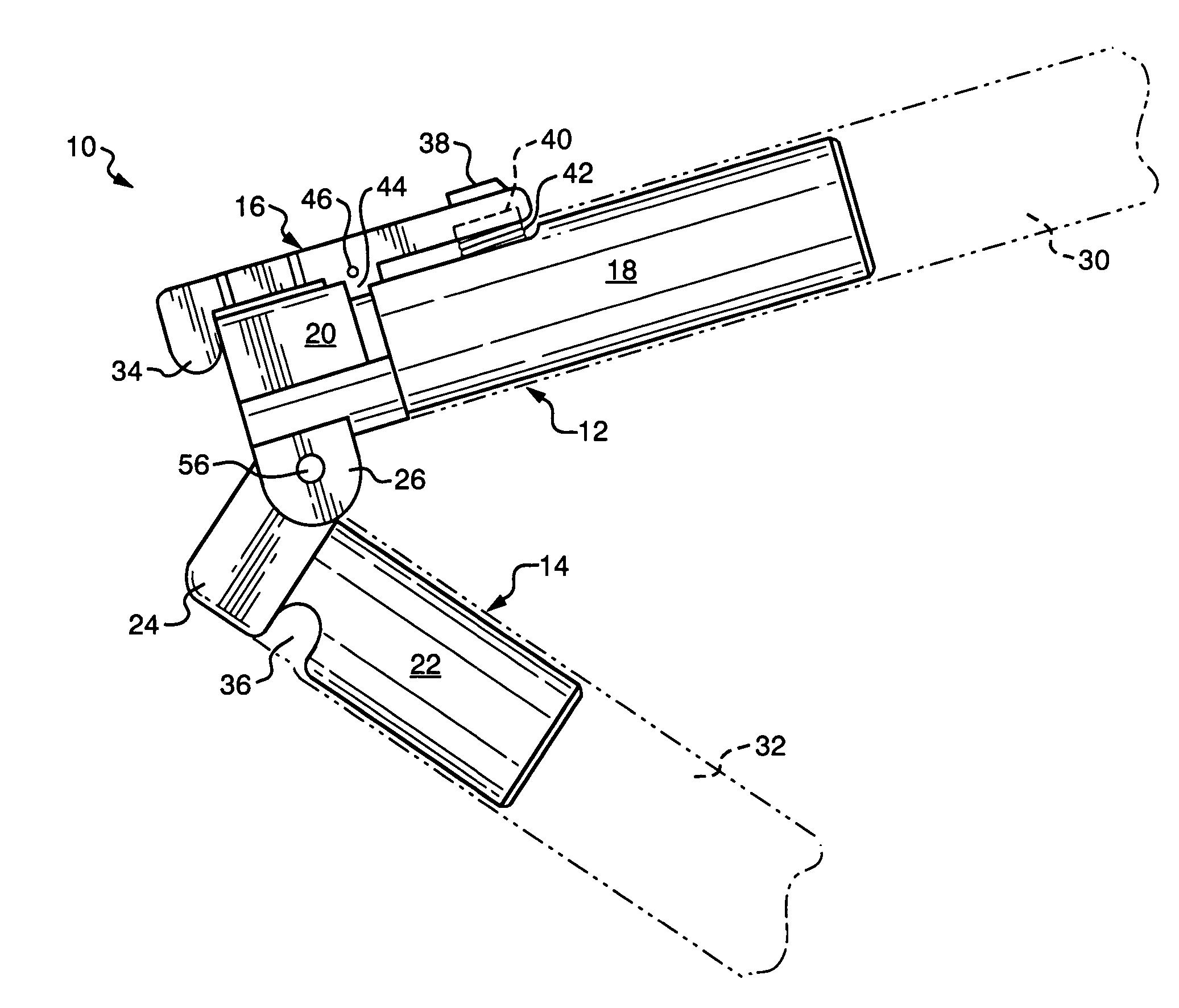 Patent Us7003849 Self Locking Hinge Google Patents