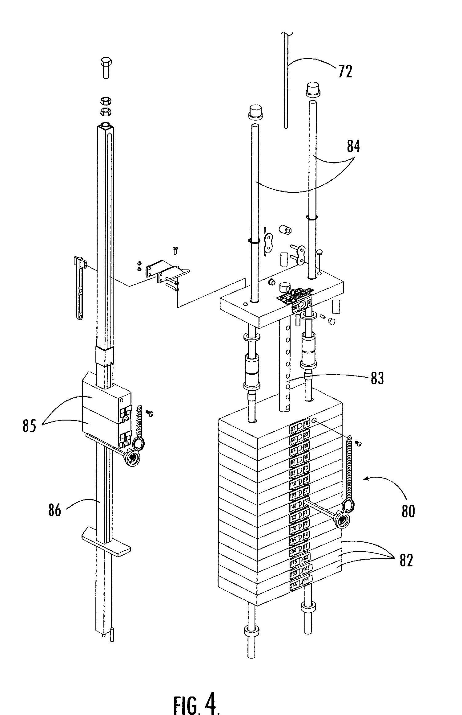Patent US7004890 - Leg press weight training machine ...