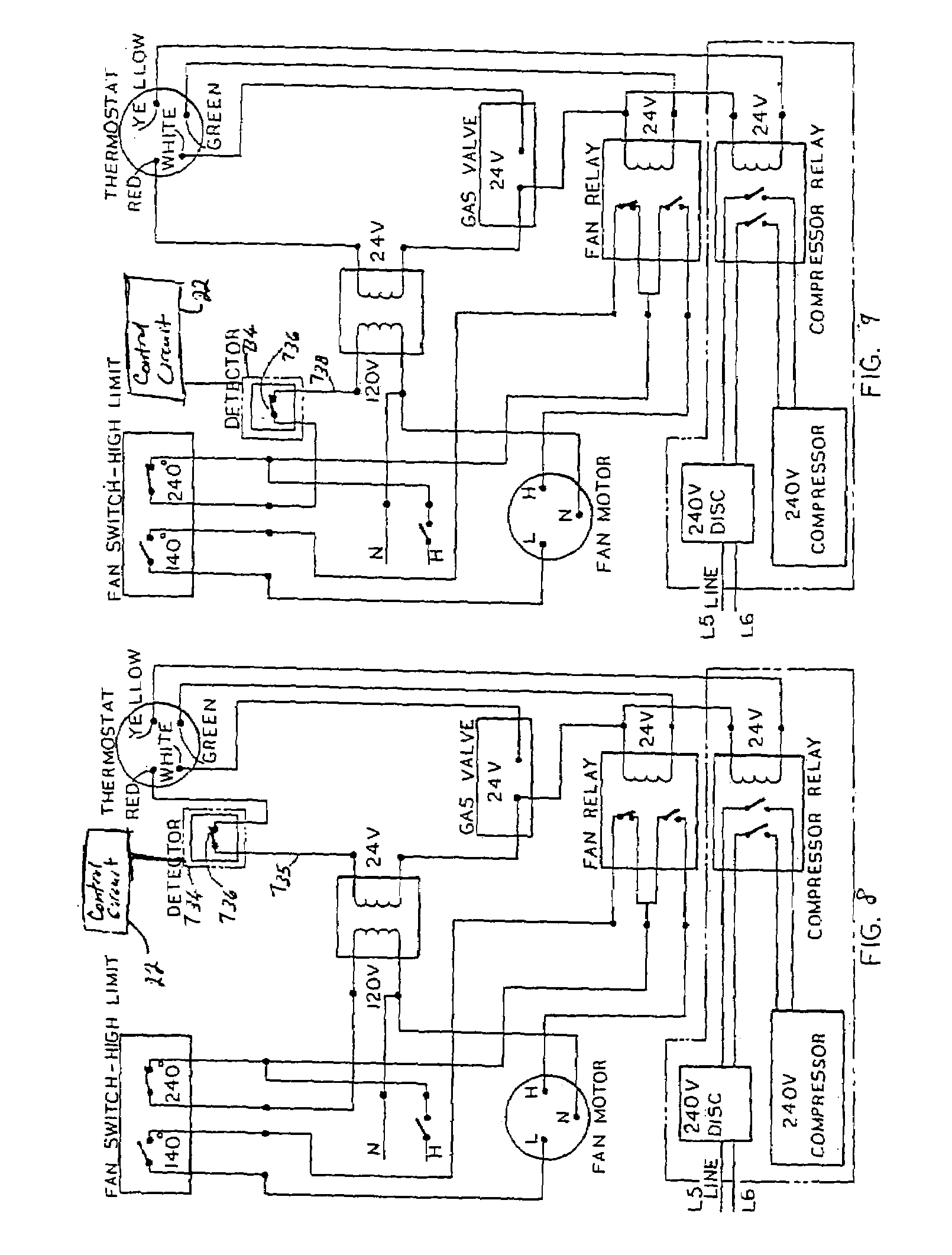 Patent Us7005994 Smart Fire Alarm And Gas Detection
