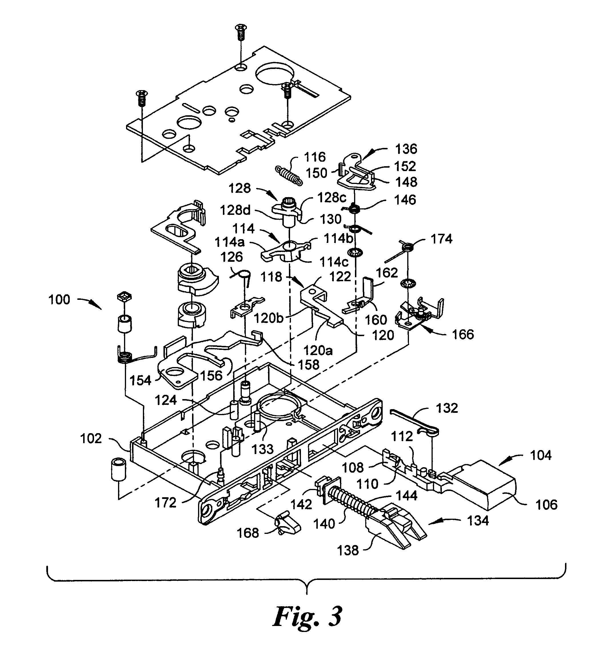 Patent Us7007985 Automatic Deadbolt Mechanism For A