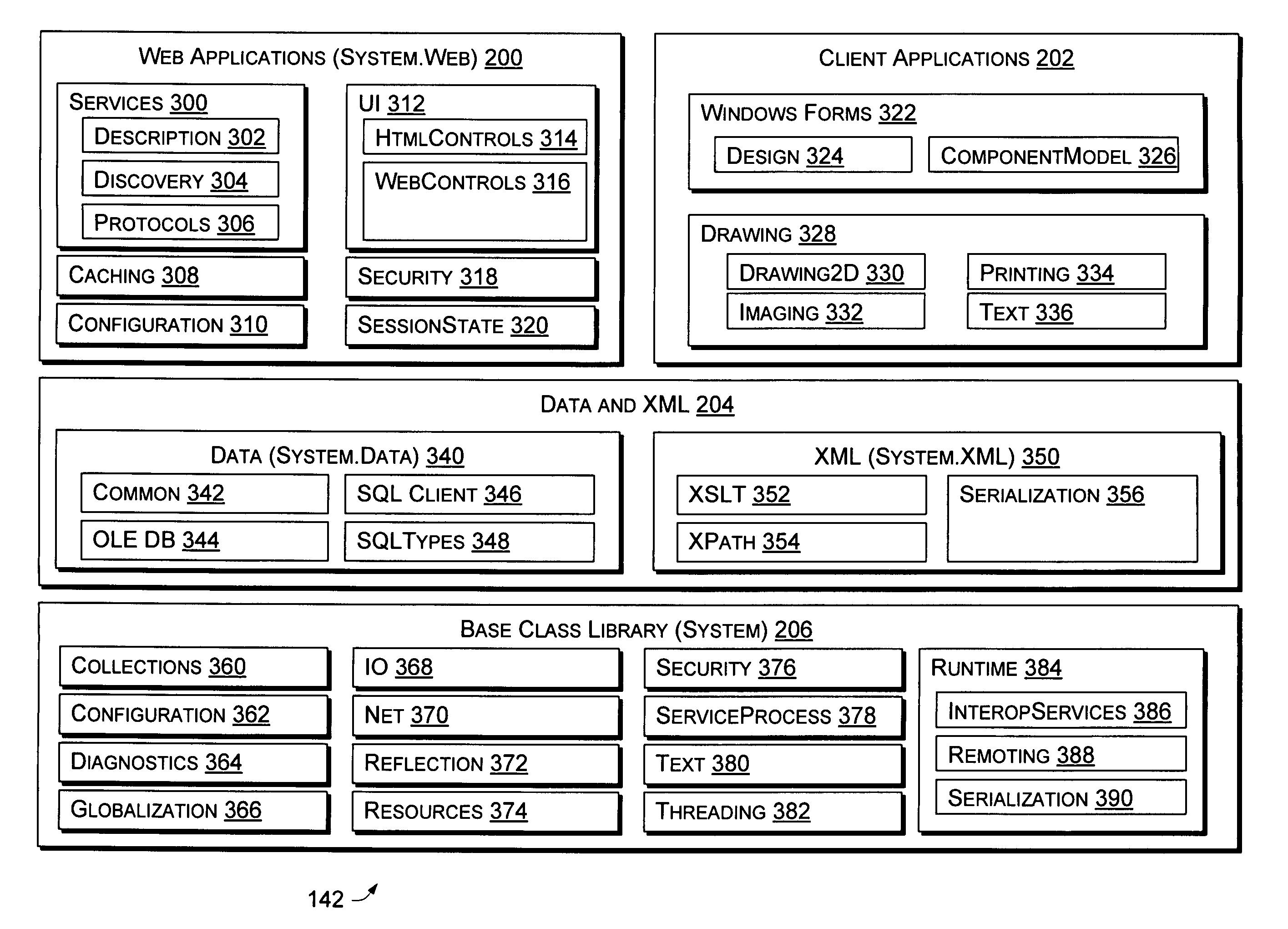 US7013469B2 - Application program interface for network