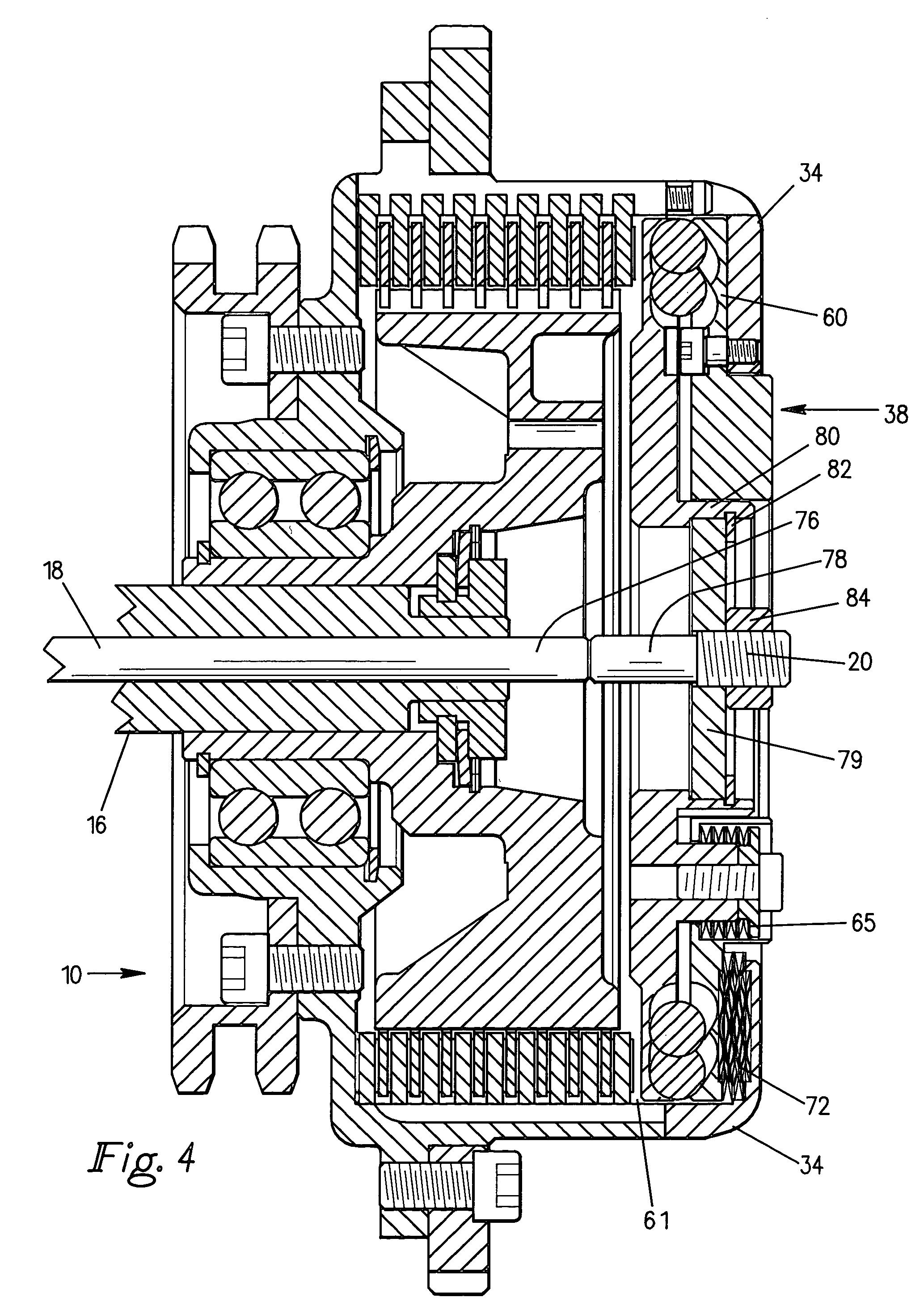 patent us7014026  automatic pressure control