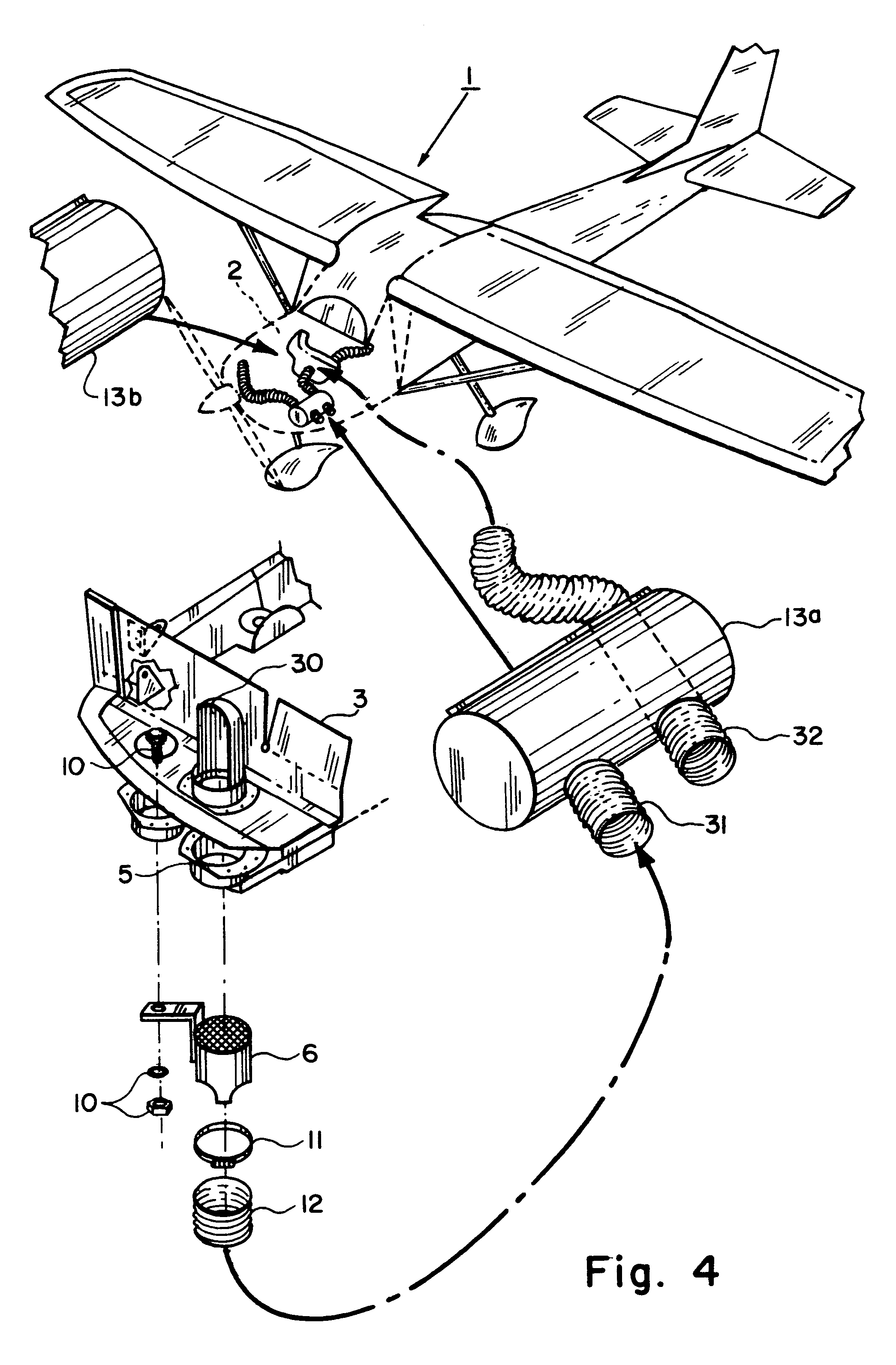 US7017828 on airplane electrical system