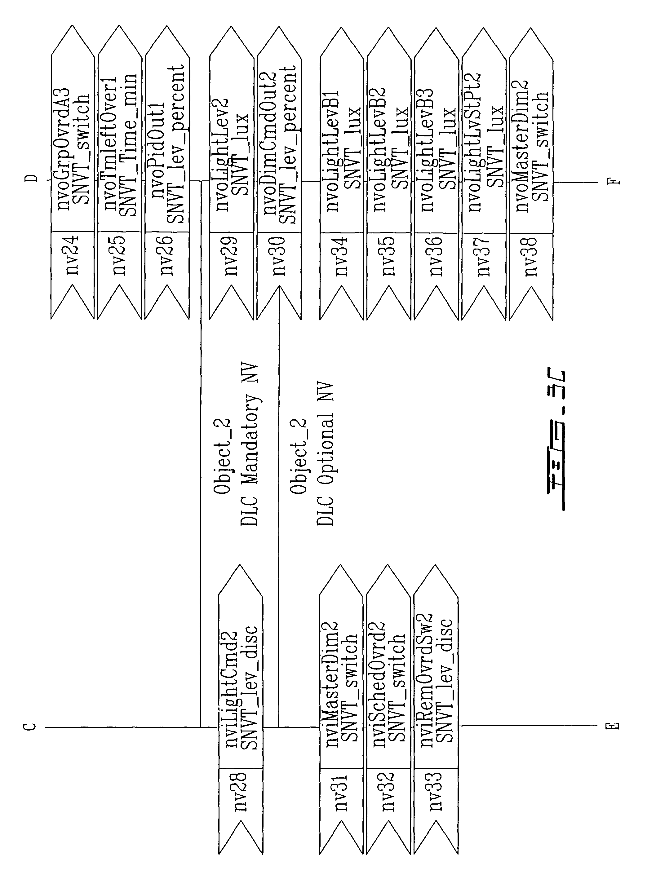 Patent US7019276 - Distributed dimmable lighting control