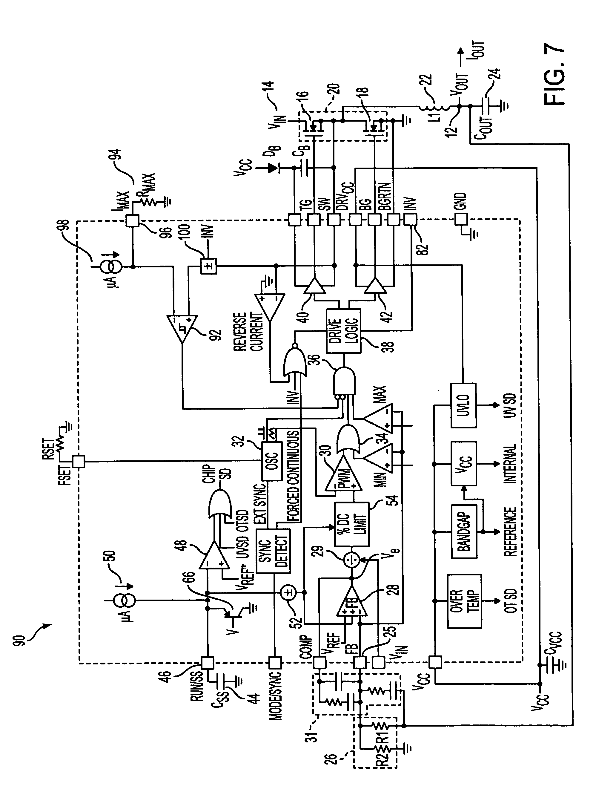Patent Us7019507 Methods And Circuits For Programmable Current 3v To 5v Step Up Converter With Undervoltage Lockout By Lt1073 Drawing