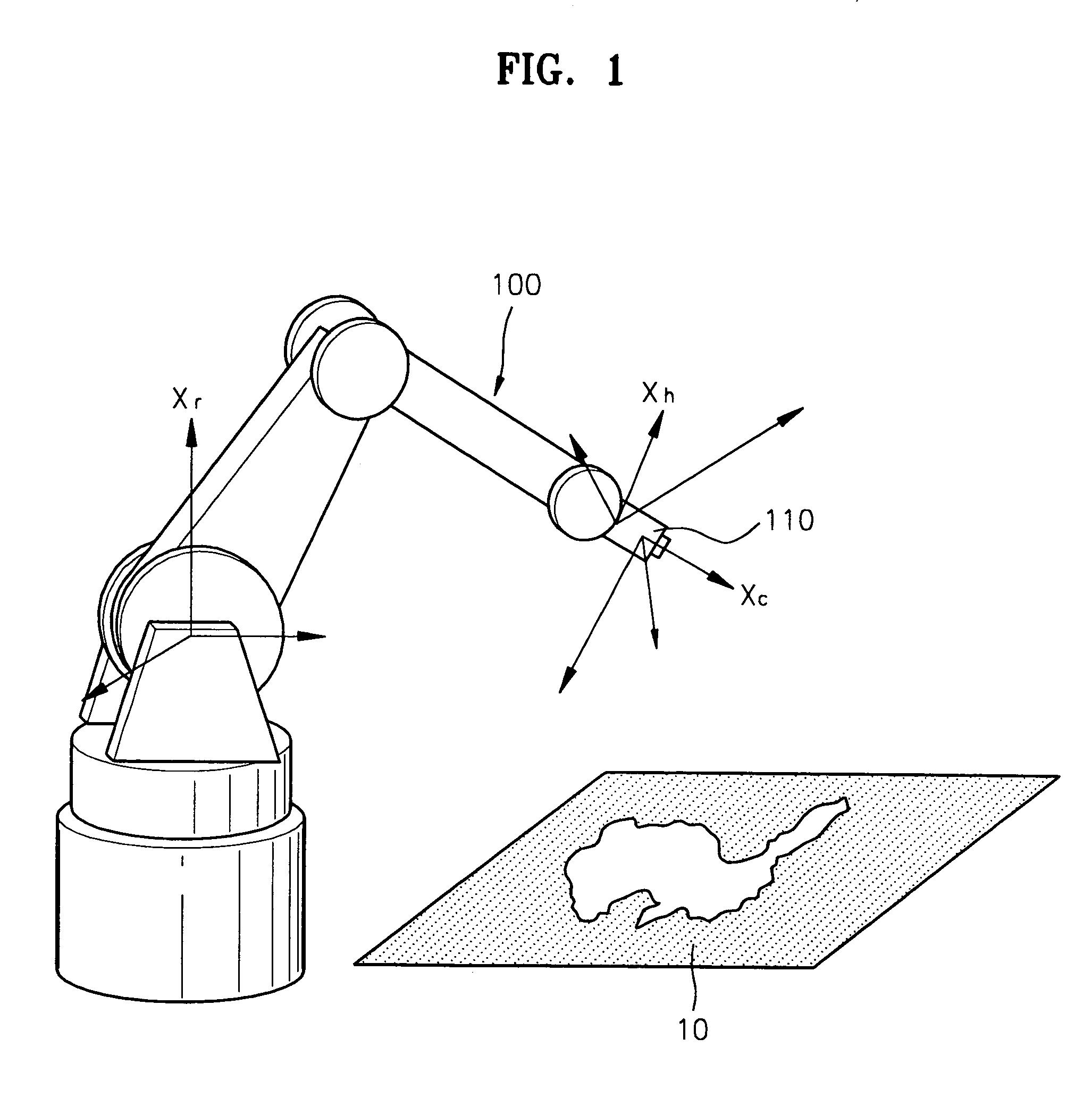 patent us7019825  eye calibration method using