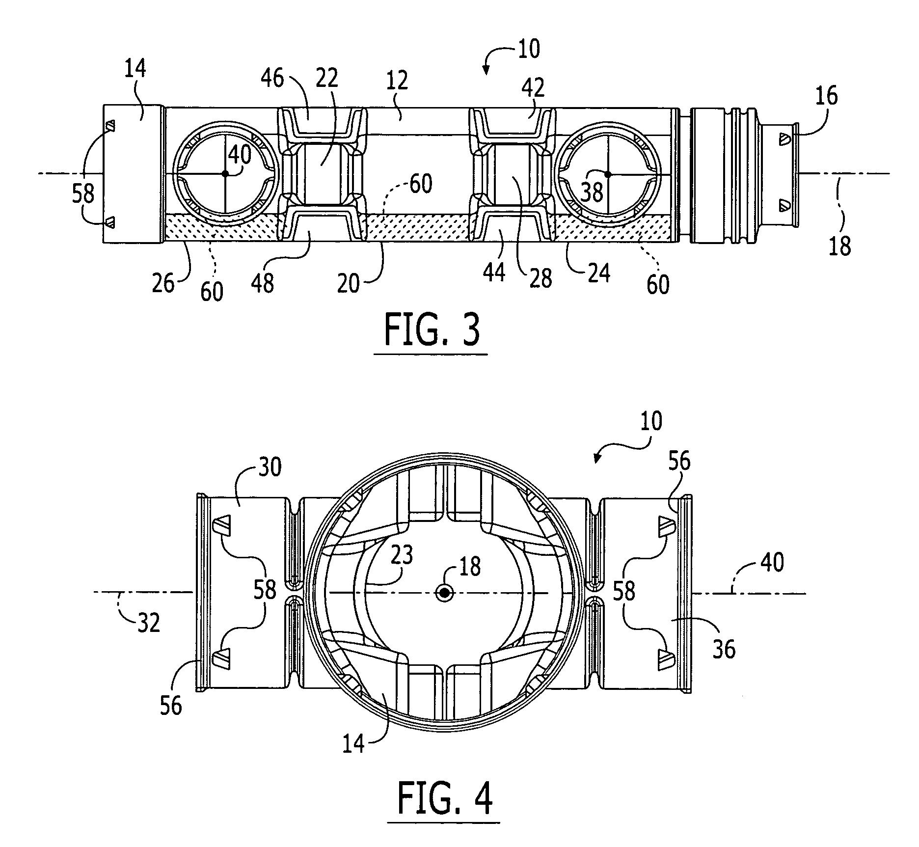 Patent Us7021671 Septic Tank Drain Field Pipe Manifold