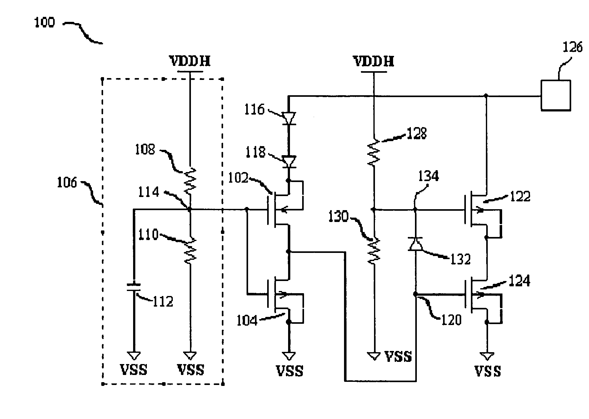 High Voltage Protection Circuit Diagram Lowvolts Alarm Tradeoficcom Patent Us7027276 Esd With Low