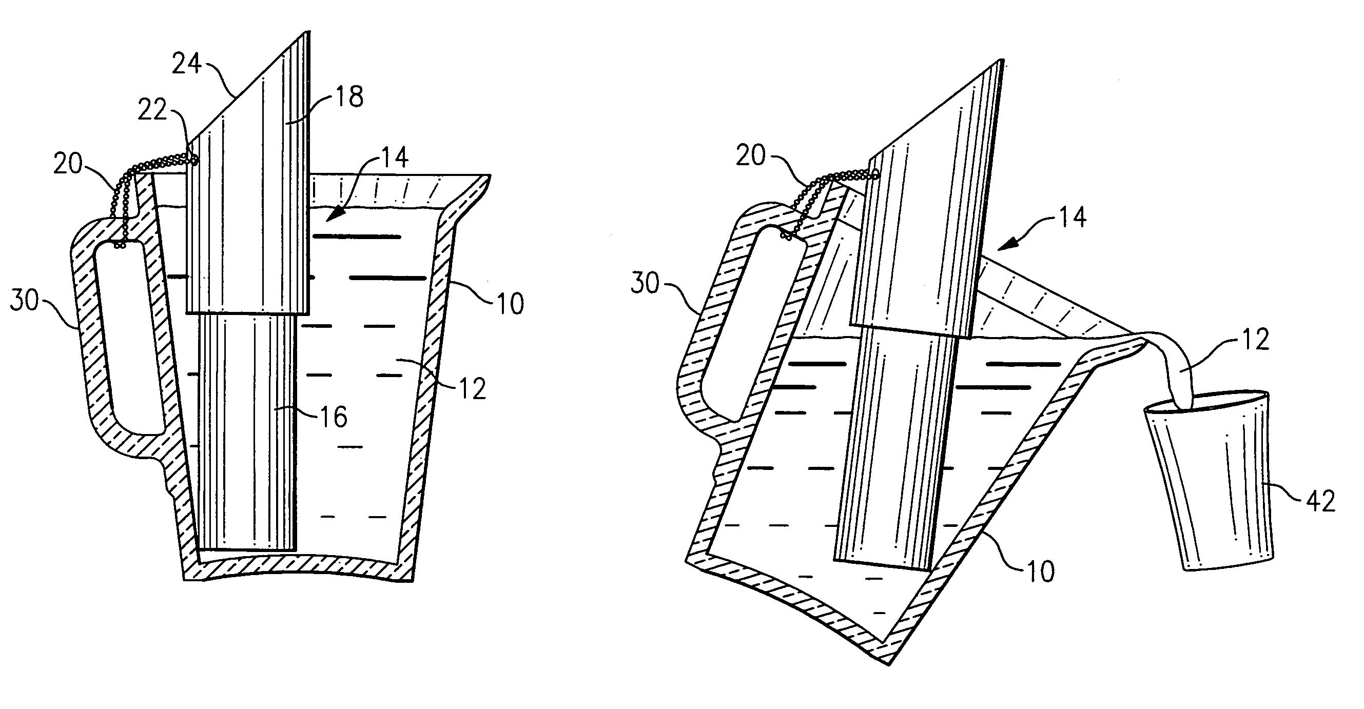 Patent Us7028505 Cooling Device For Beer Pitcher
