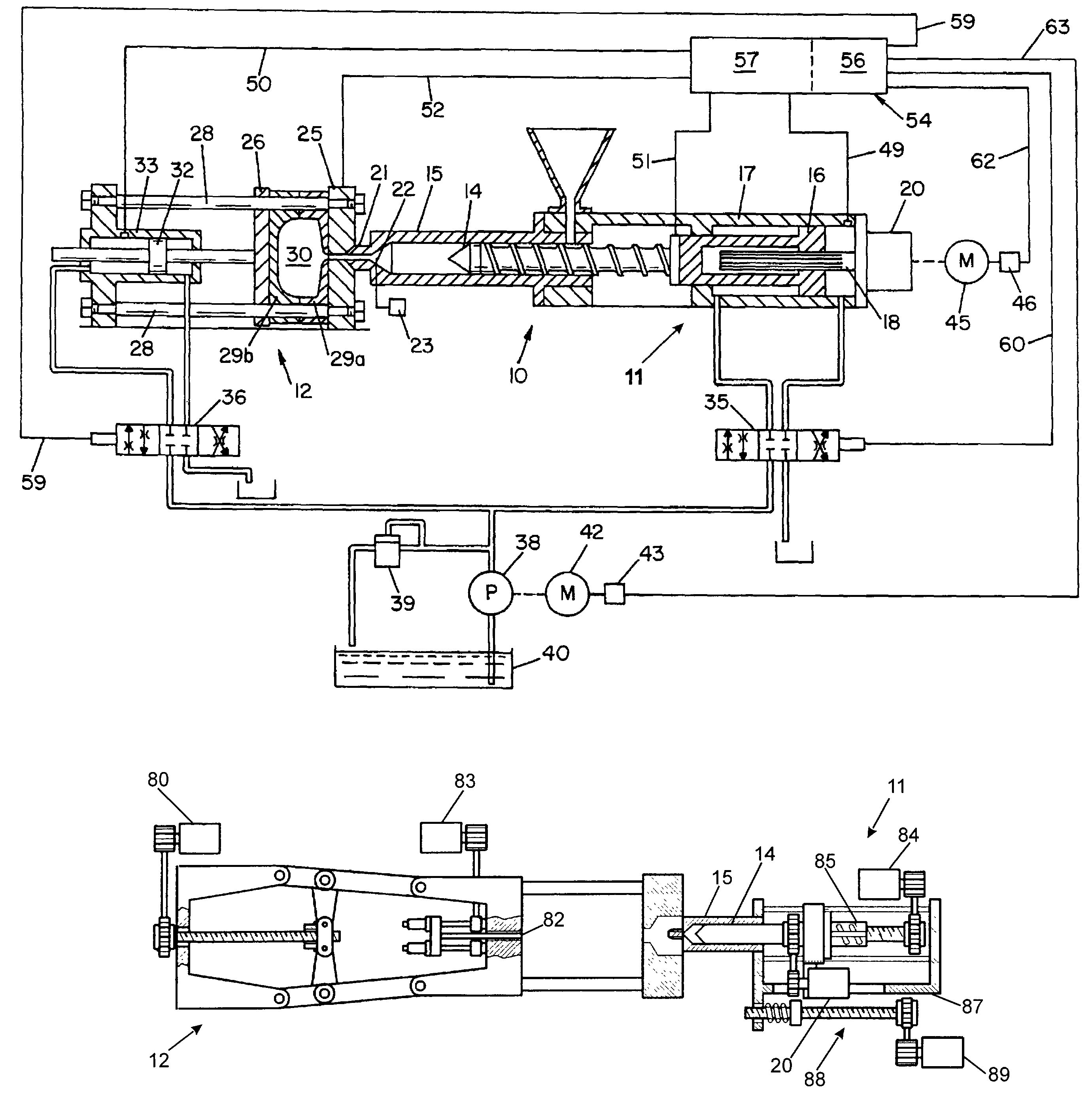 patent us7031800 - oo control for injection molding machine