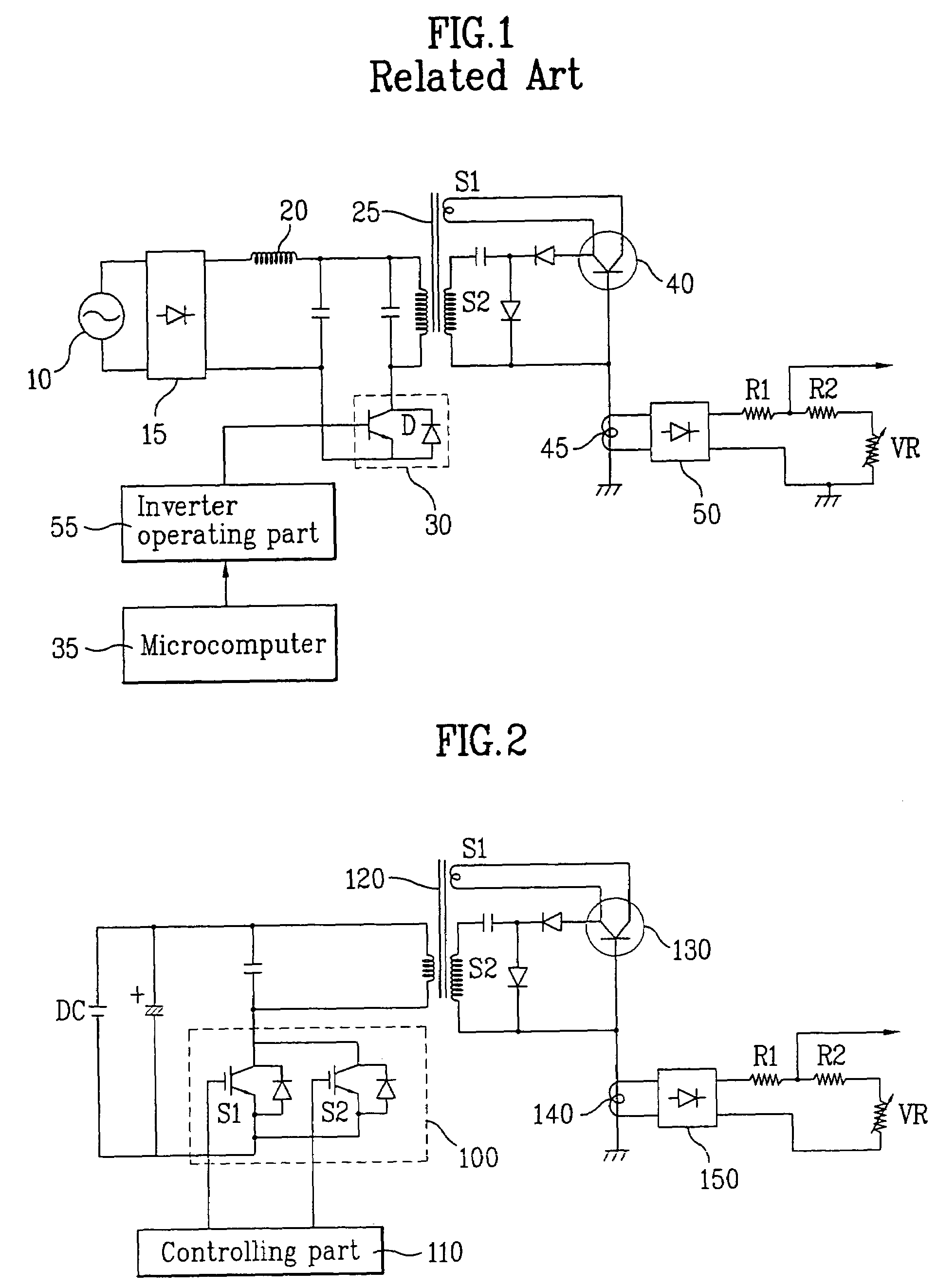 Patent Us7034267 Dc Voltage Microwave Oven Power Supplying Circuit 120 Kv Fullwave Multiplier Drawing