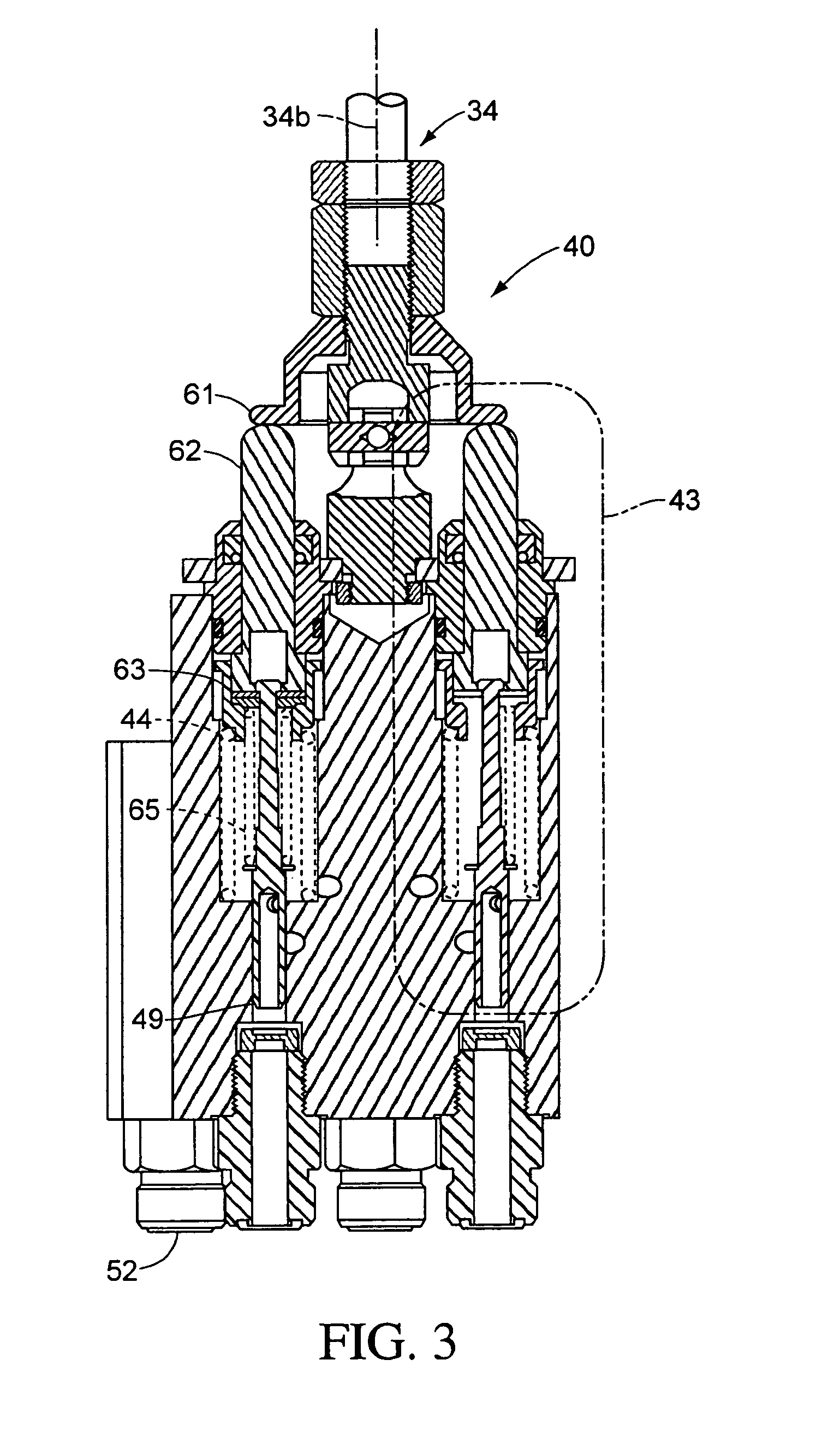 patent us7036248 - pattern select valve for control levers of a title work vehicle