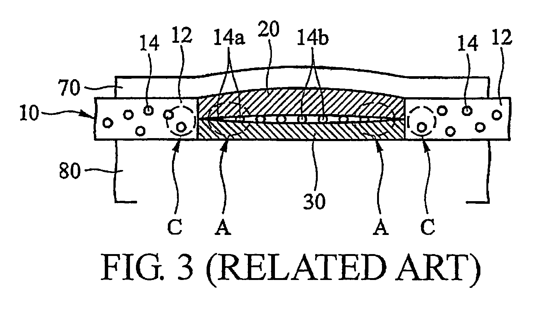 patent us7038327 - anisotropic conductive film bonding pad
