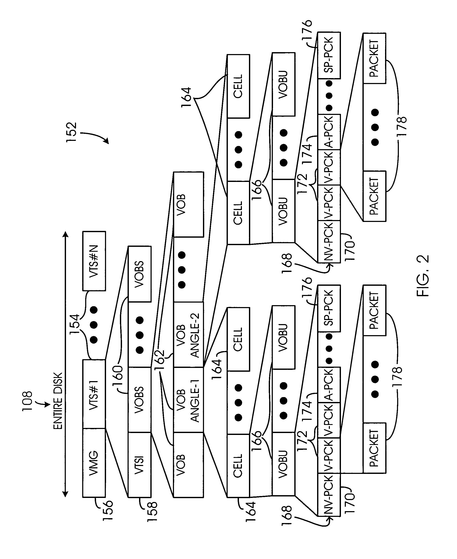 patent us7039298  visual segment from digital versatile disk content