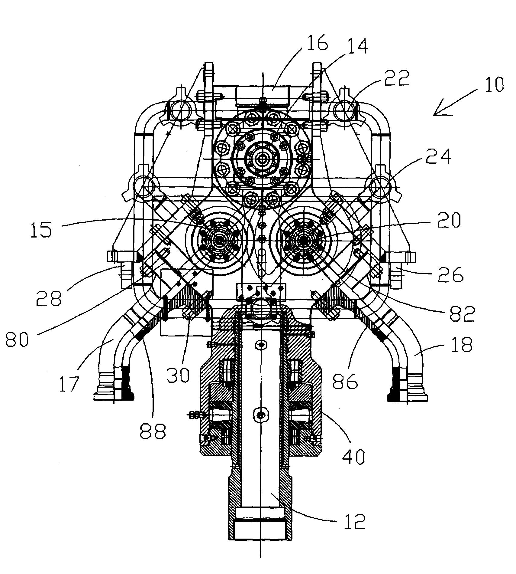 patent us7040408 - flowhead and method