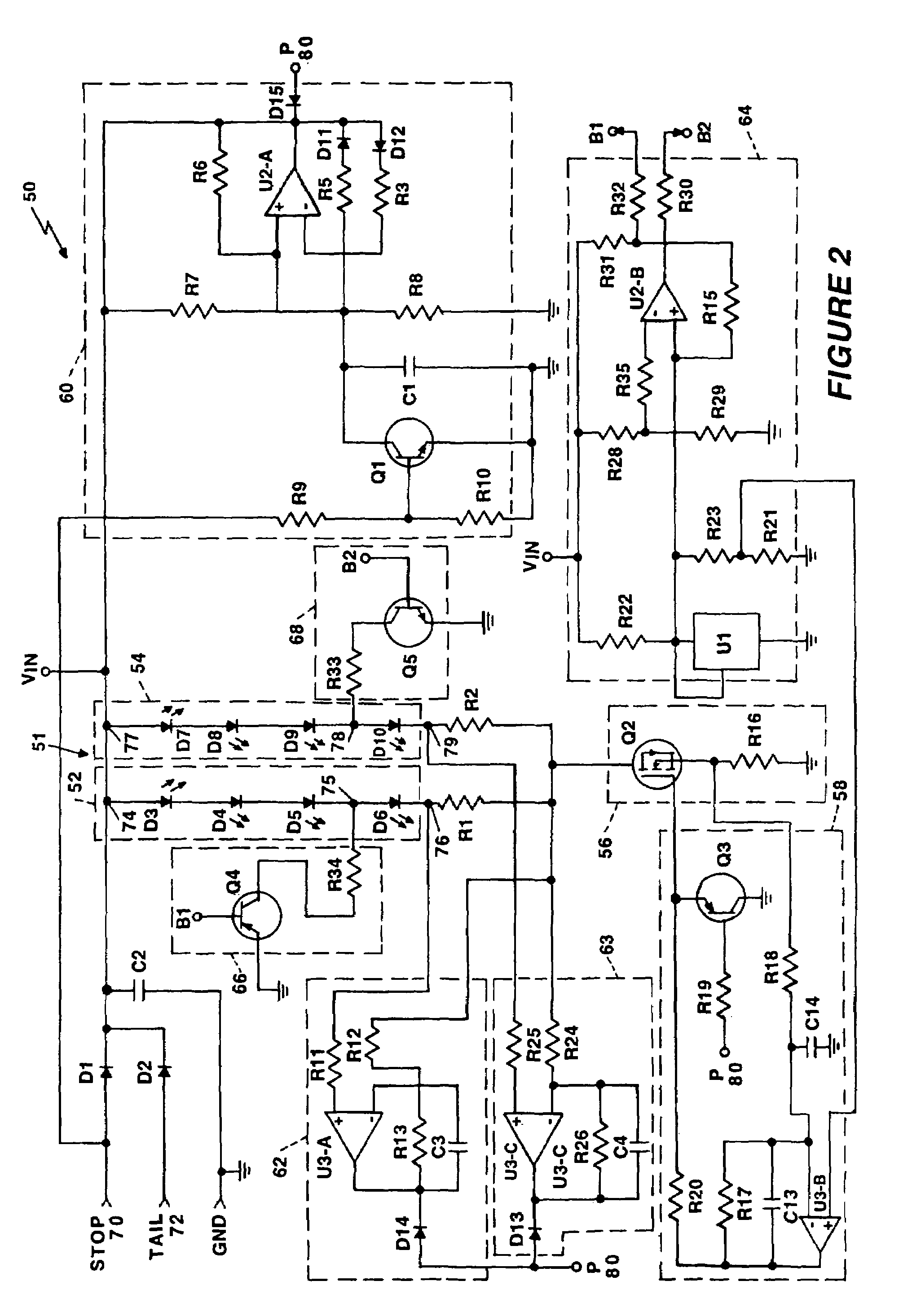 Patent Us7042165 Driver Circuit For Led Vehicle Lamp Google Patents Or Pulser Drawing