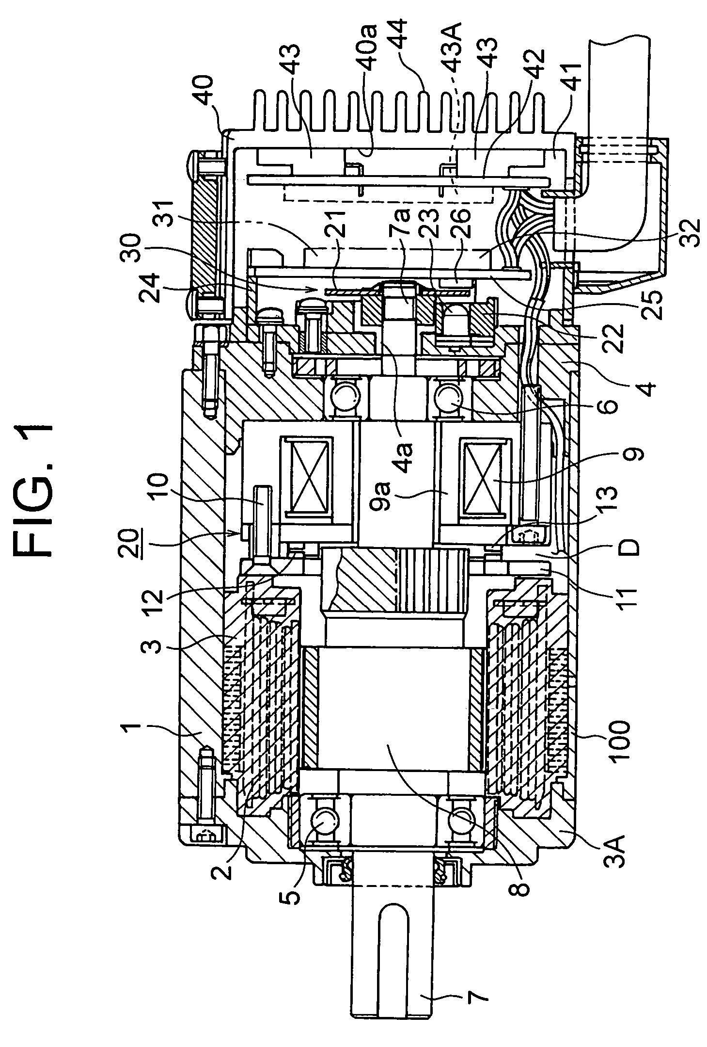 patent us7042188 - servo motor with a built-in drive circuit