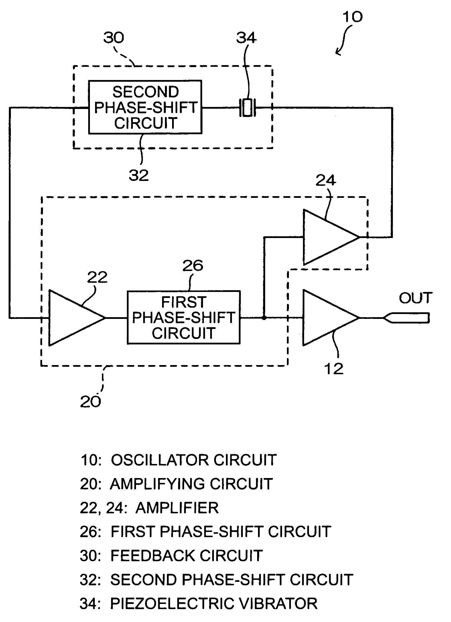 Us7046096 Oscillator Circuit Phase Shift Using Transistor Image Patent Drawing