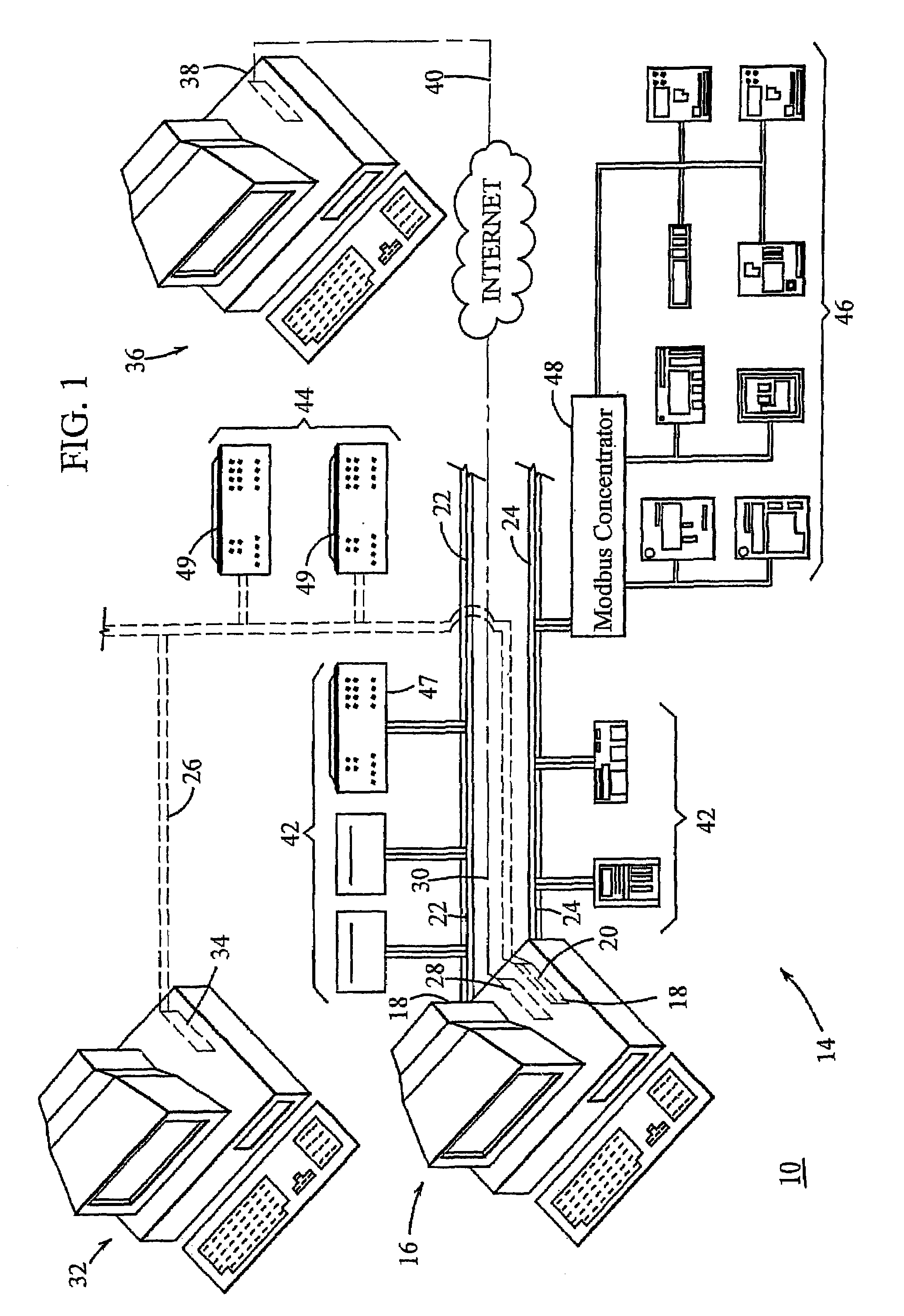 patent us7047274 - virtual modular relay device