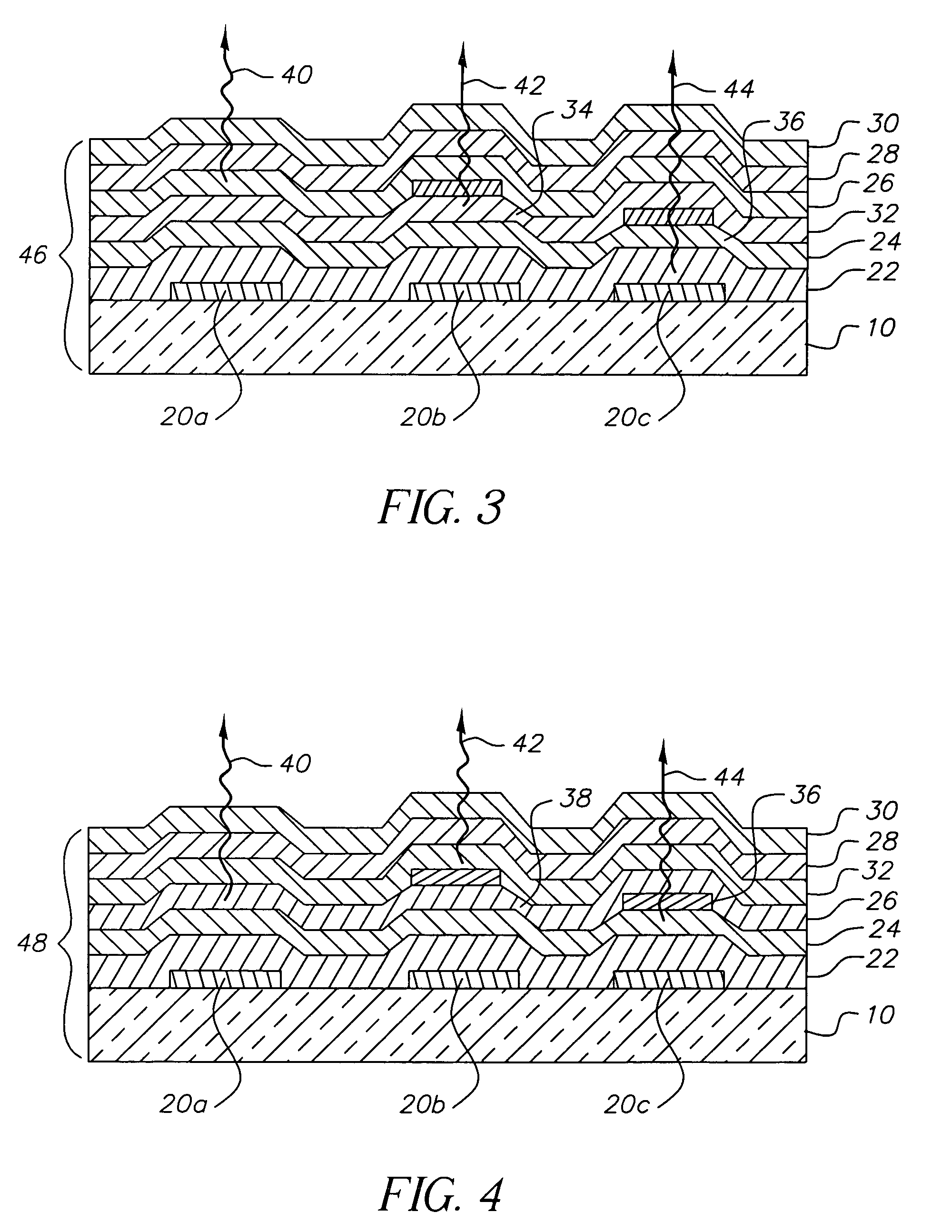 Patent Us7052351 Using Hole Or Electron Blocking Layers