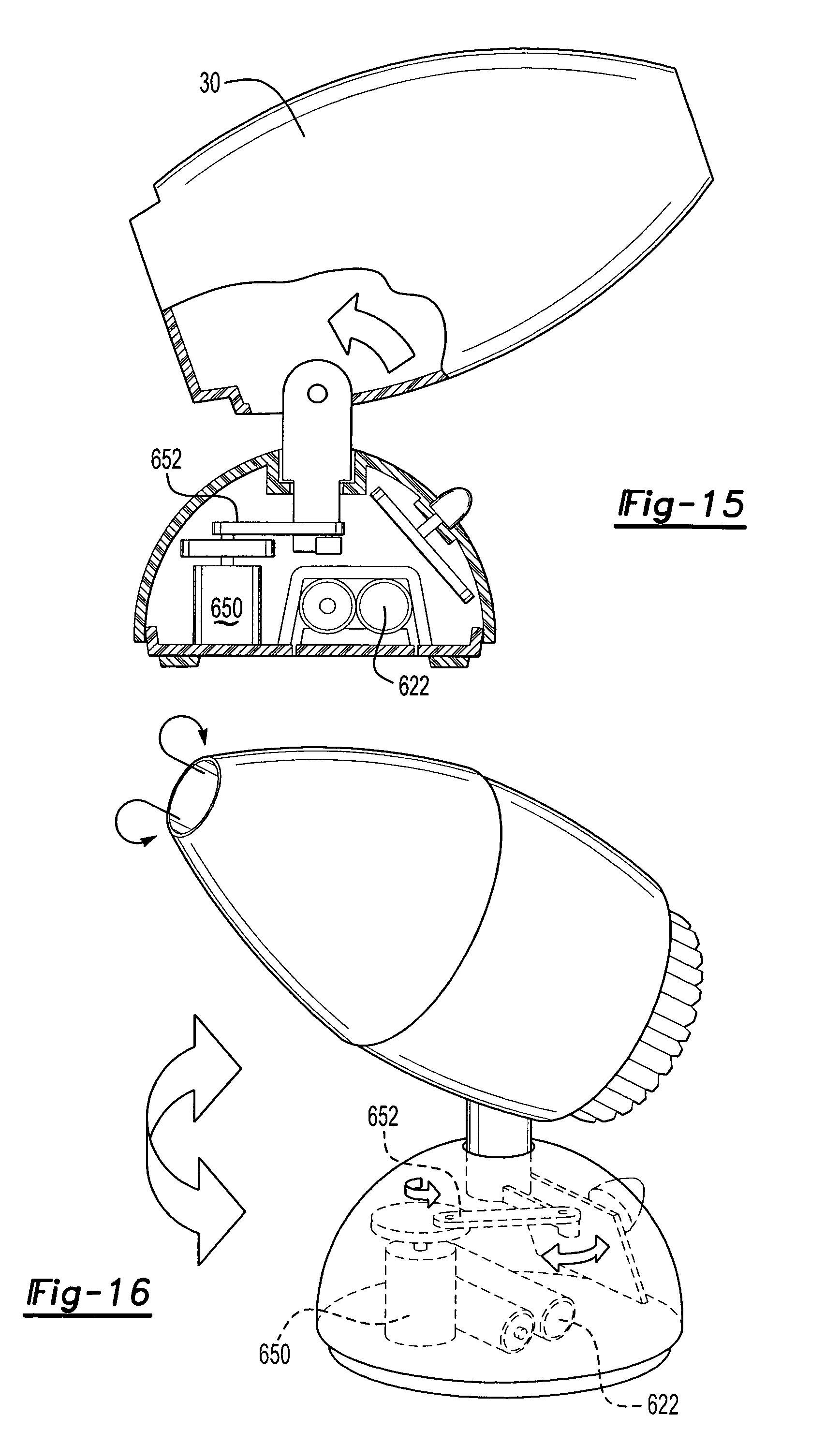 patent us7059544 - vortex generator for dispensing actives