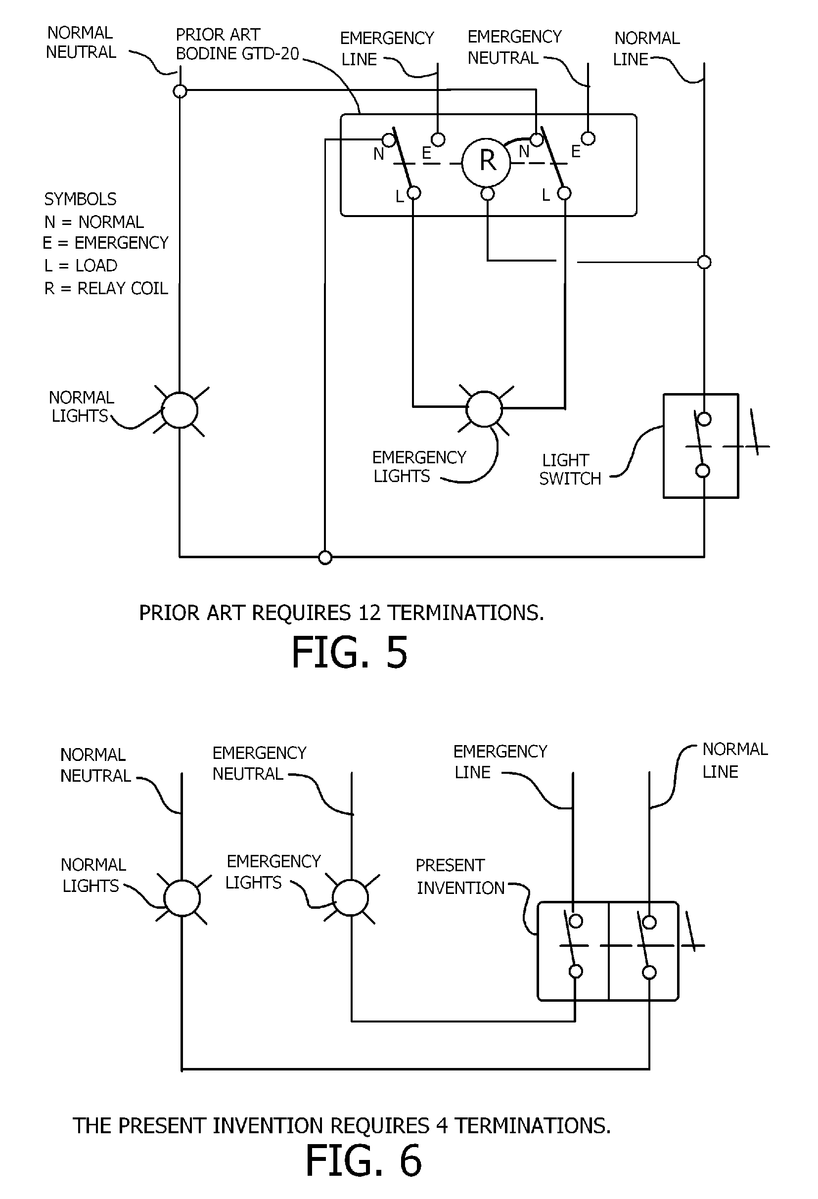 US07060918 20060613 D00002 patent us7060918 normal and emergency combination light switch gtd20a wiring diagram at bayanpartner.co