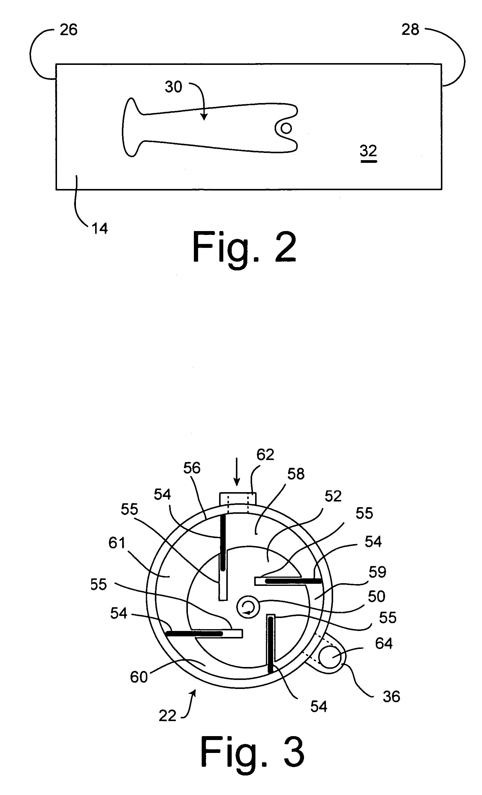 patent us7063040 - portable air horn apparatus