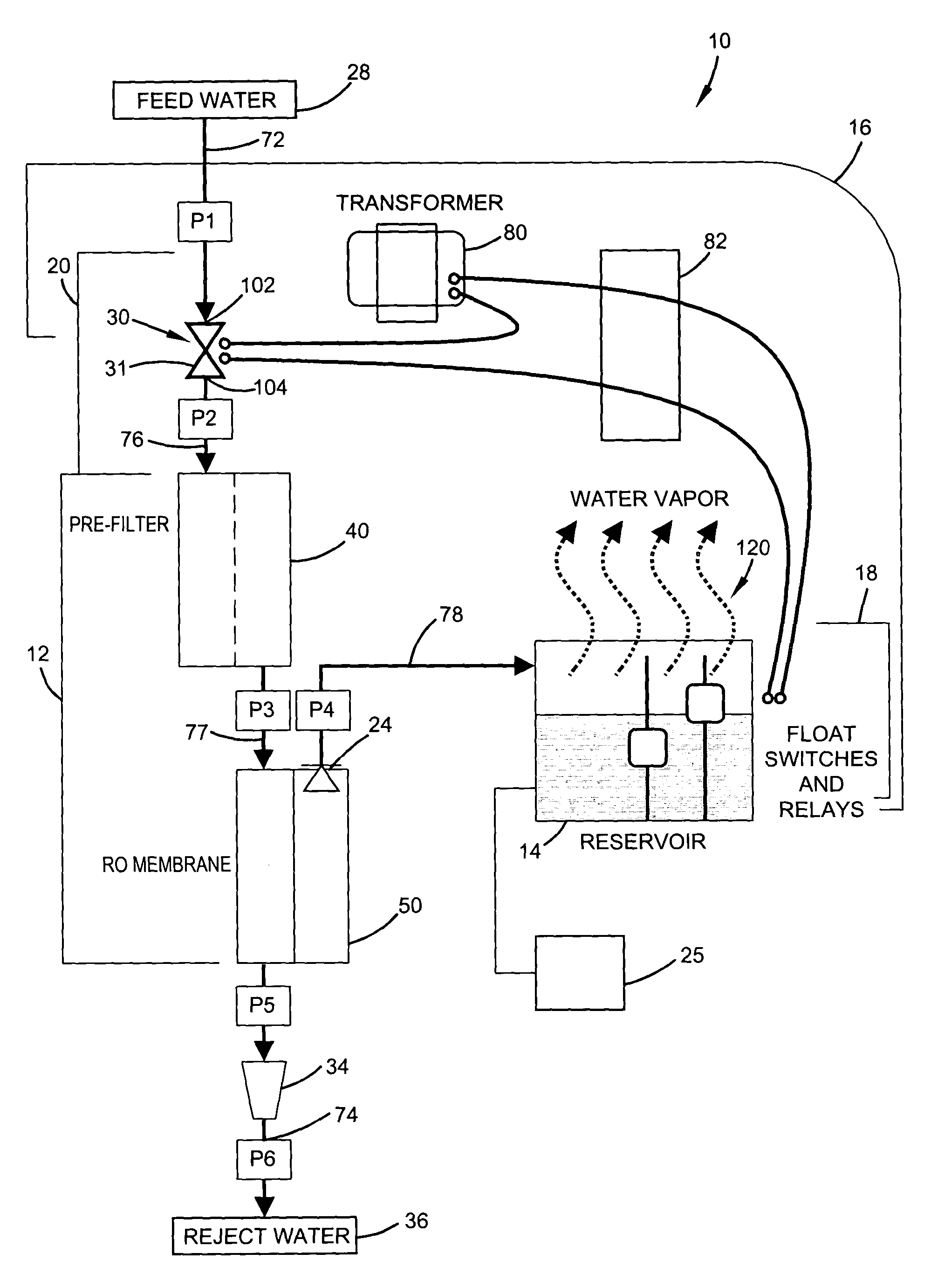humidifier with reverse osmosis filter on honeywell humidifier Current Transformer Meter Wiring Diagram patent us7066452 humidifier with reverse osmosis filter humidifier with reverse osmosis filter on honeywell humidifier wiring