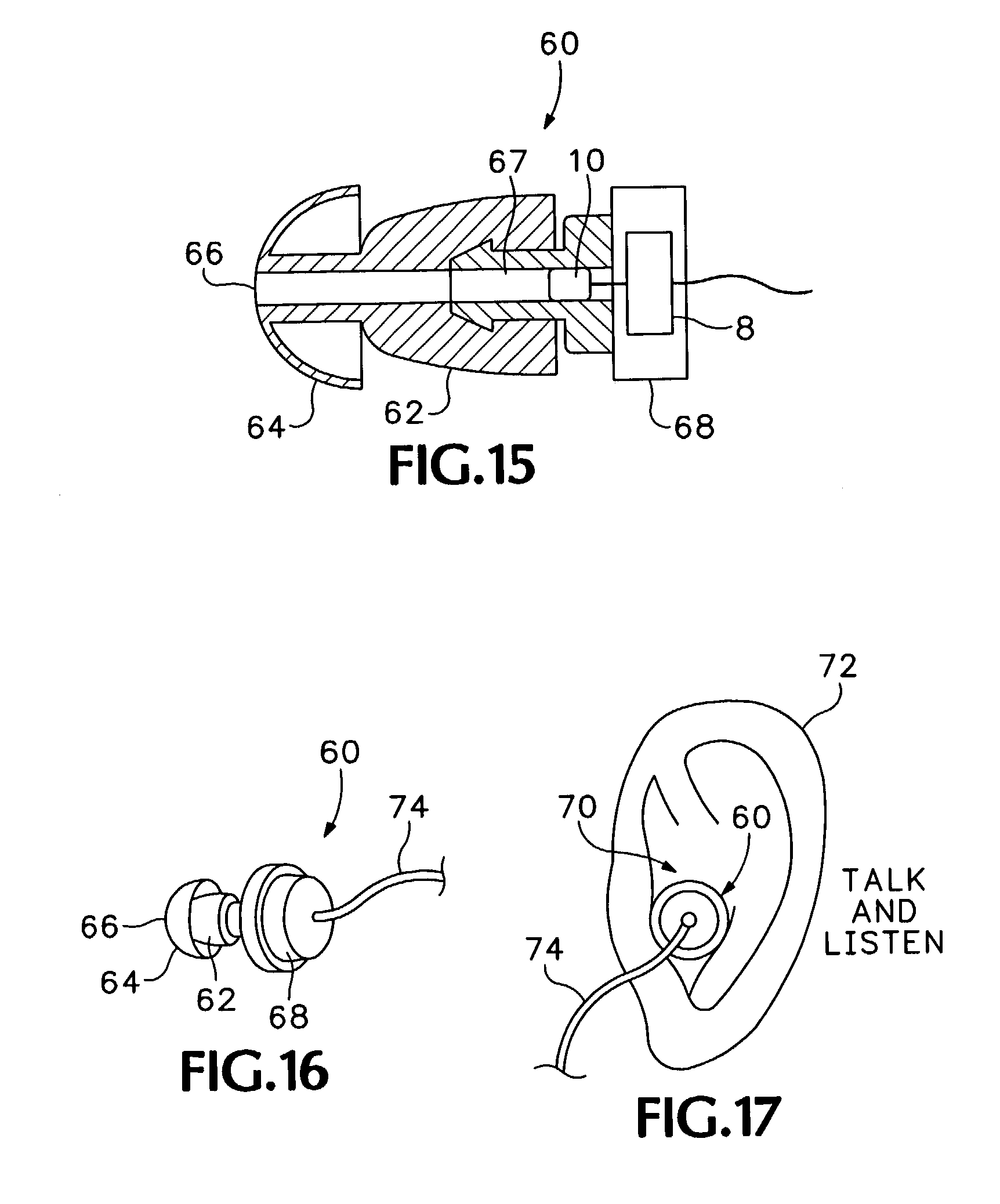 patent us7072476 - audio headset