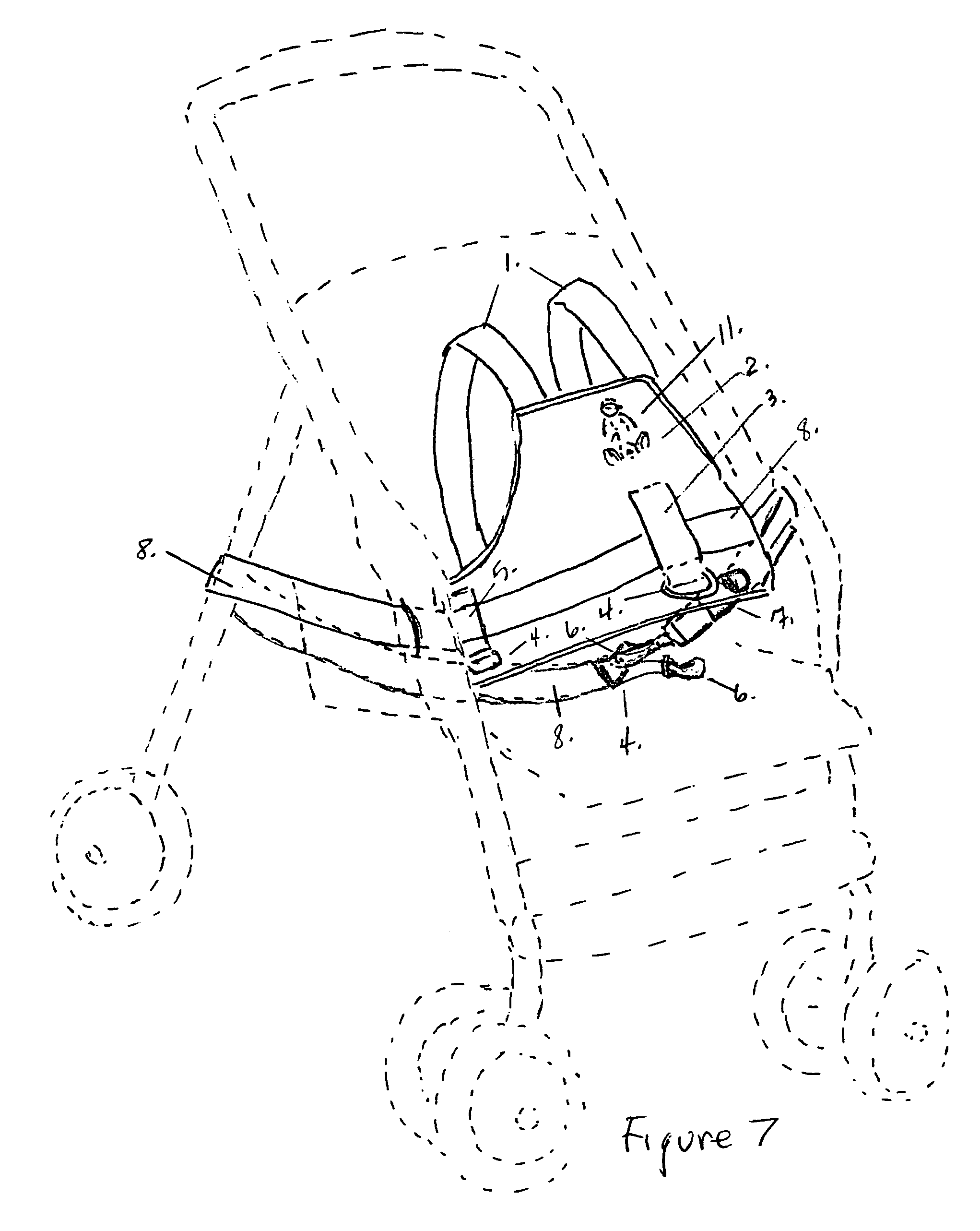 patent us7073866 - child safety harness