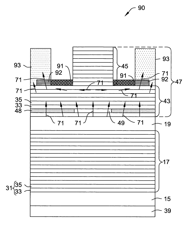 Patent US7075962 - VCSEL having thermal management - Google