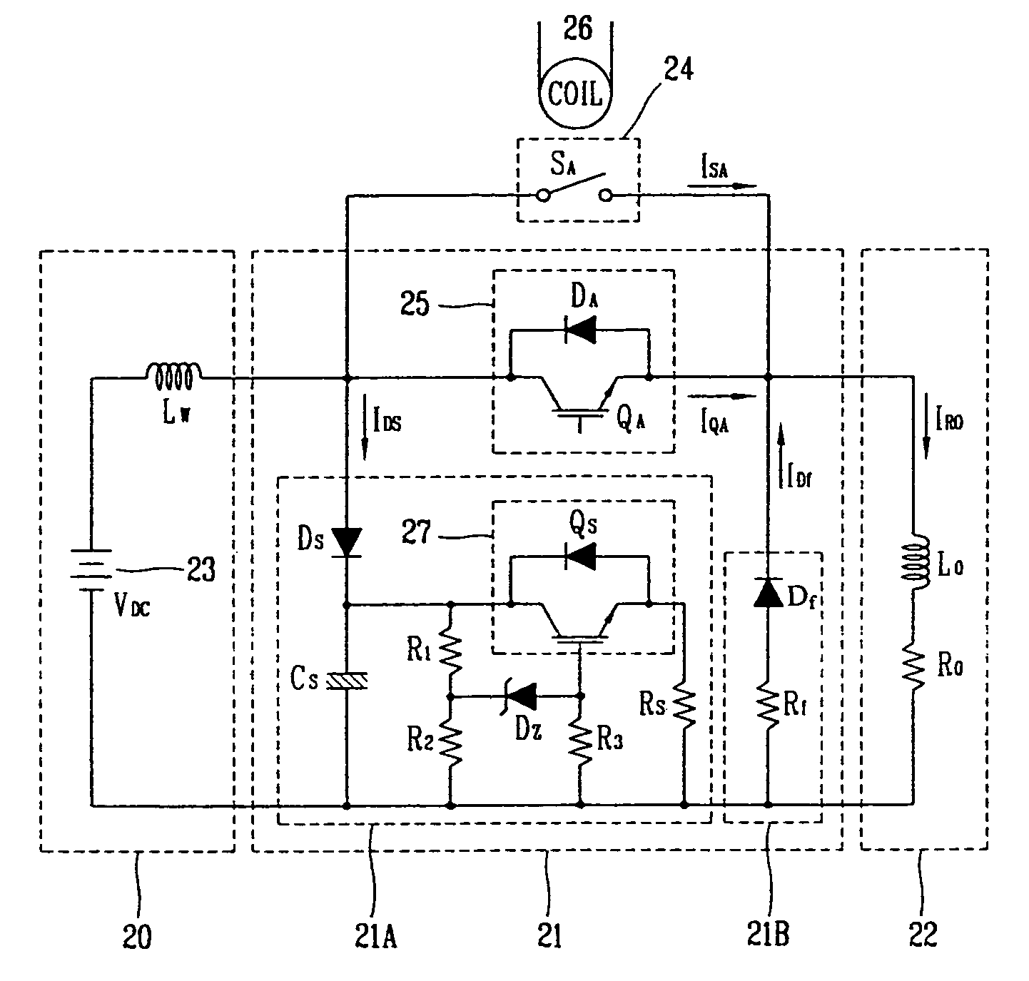Patent Us7079363 Hybrid Dc Electromagnetic Contactor Google Patents Snubber Circuit Triac The Could Be A Drawing