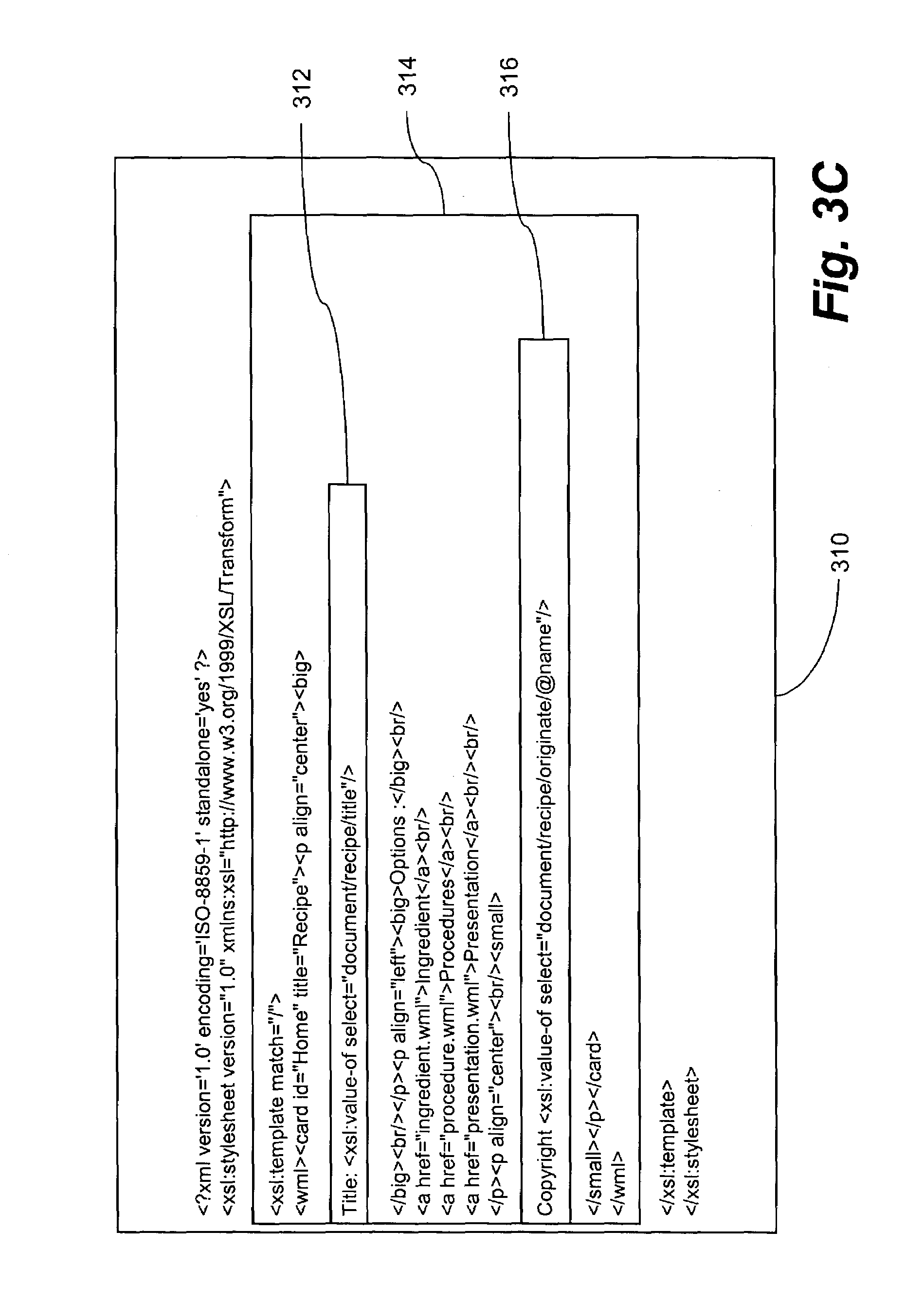 Patent US Extensible stylesheet designs in visual graphic