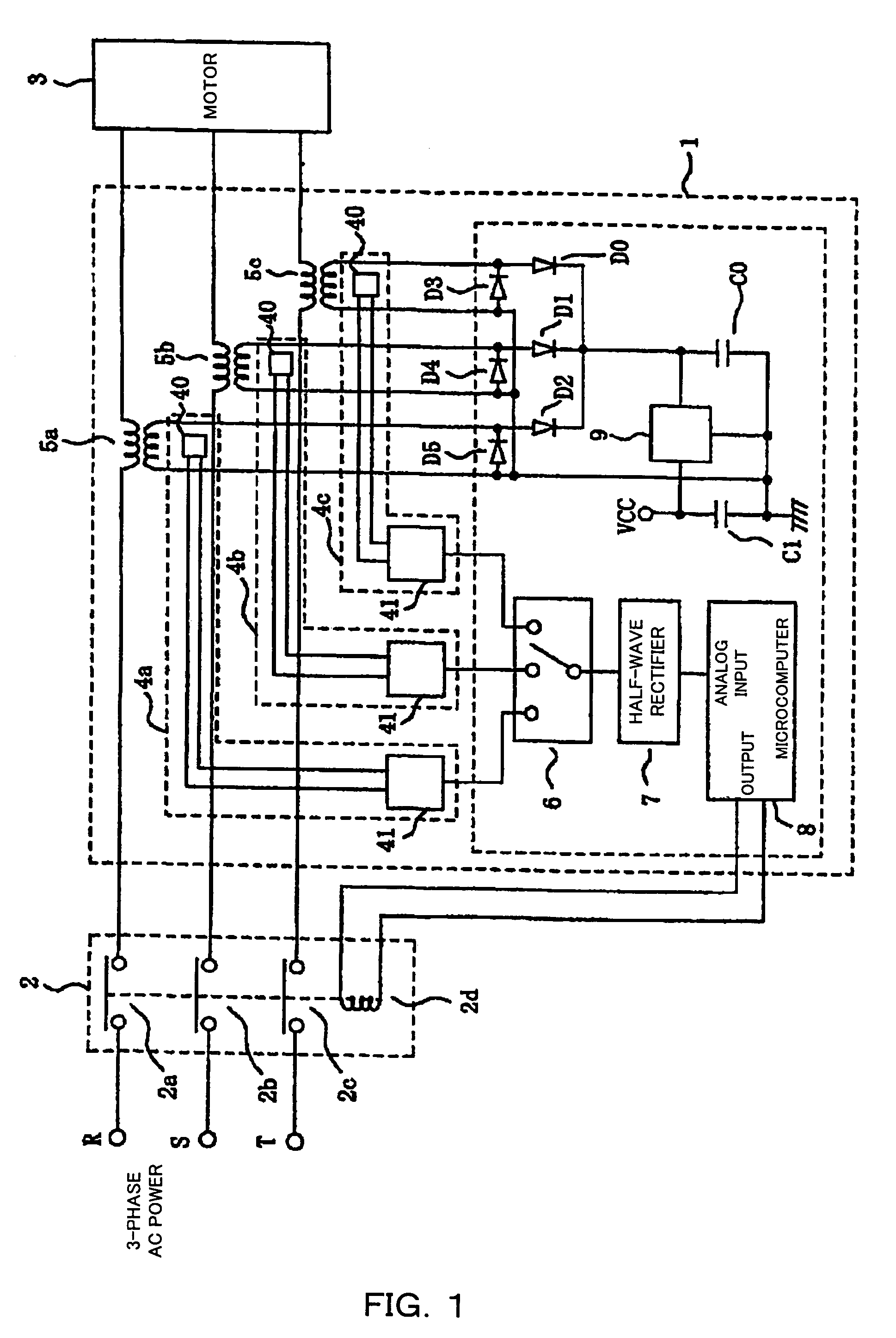 patent us7085116 - overload current protection device using magnetic impedance element